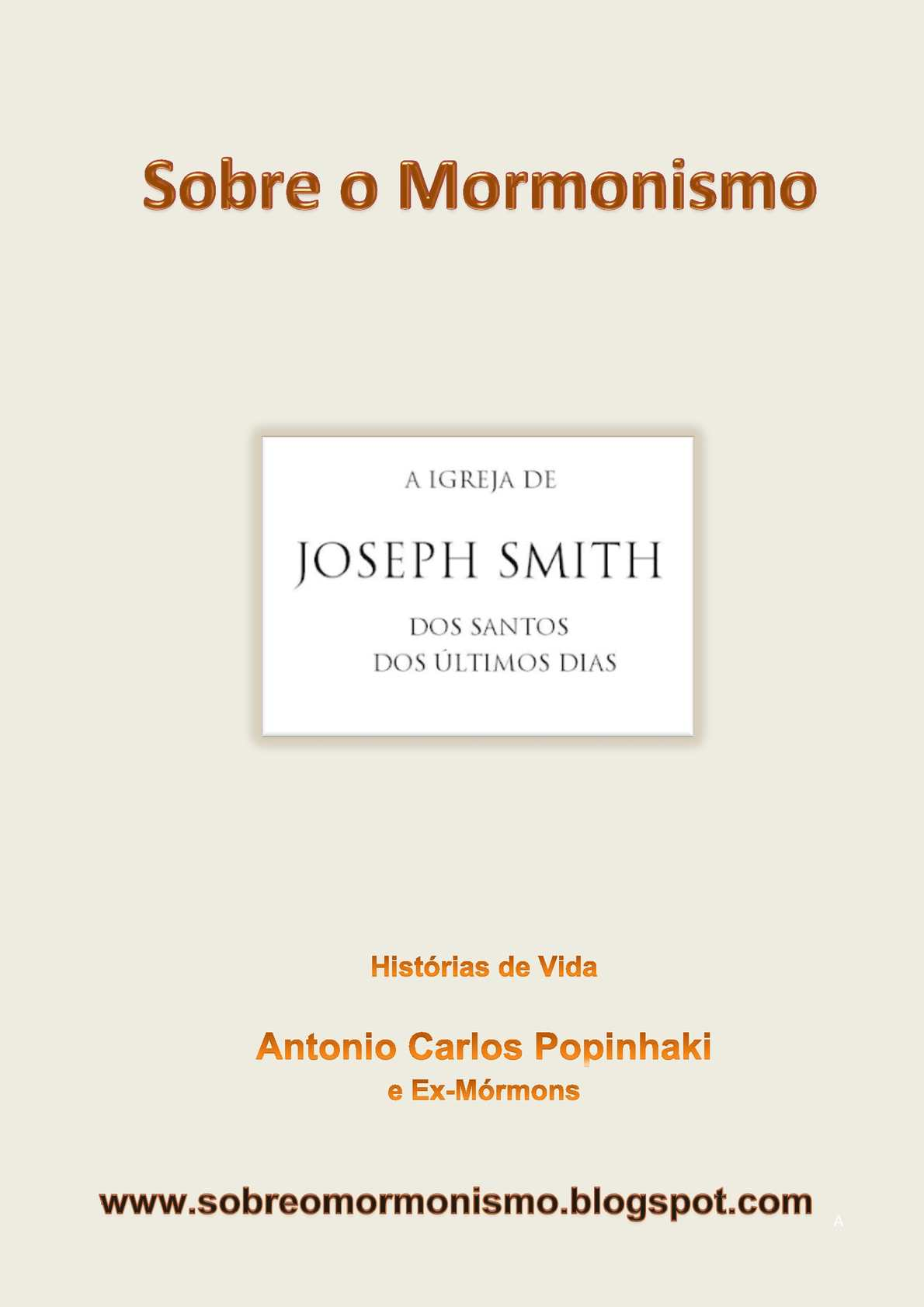 Calaméo - E-Book Sobre o Mormonismo 9d54ccd599c69
