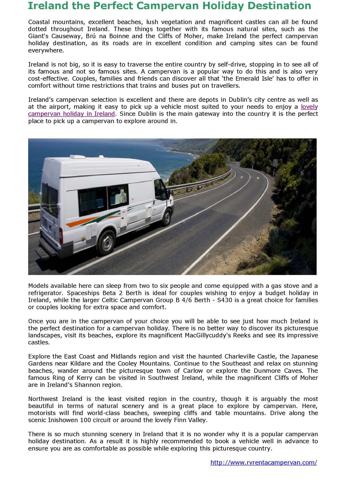 1a168c45ffd Calaméo - Ireland the Perfect Campervan Holiday Destination