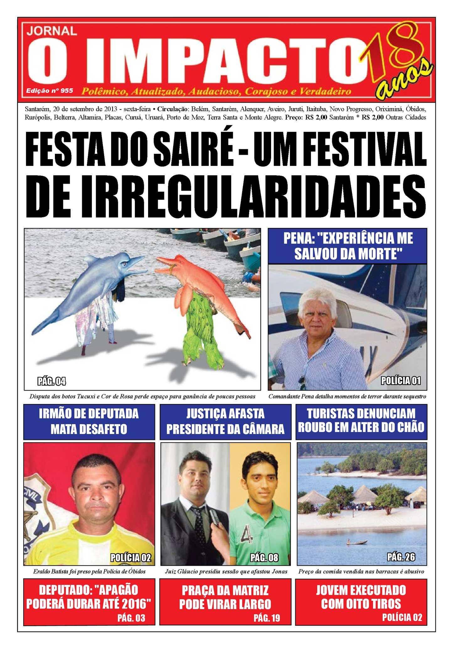 569acdae2 Calaméo - Jornal O Impacto Ed. 955
