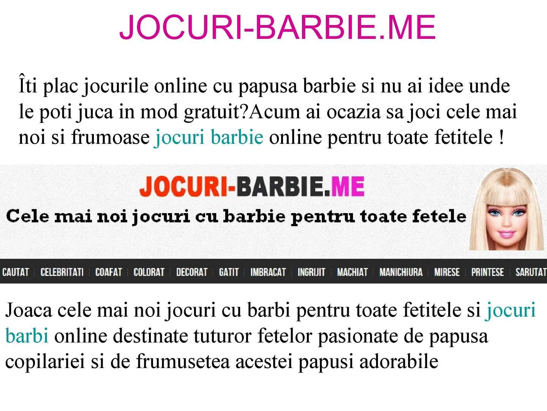 Calaméo Jocuri Cu Barbie