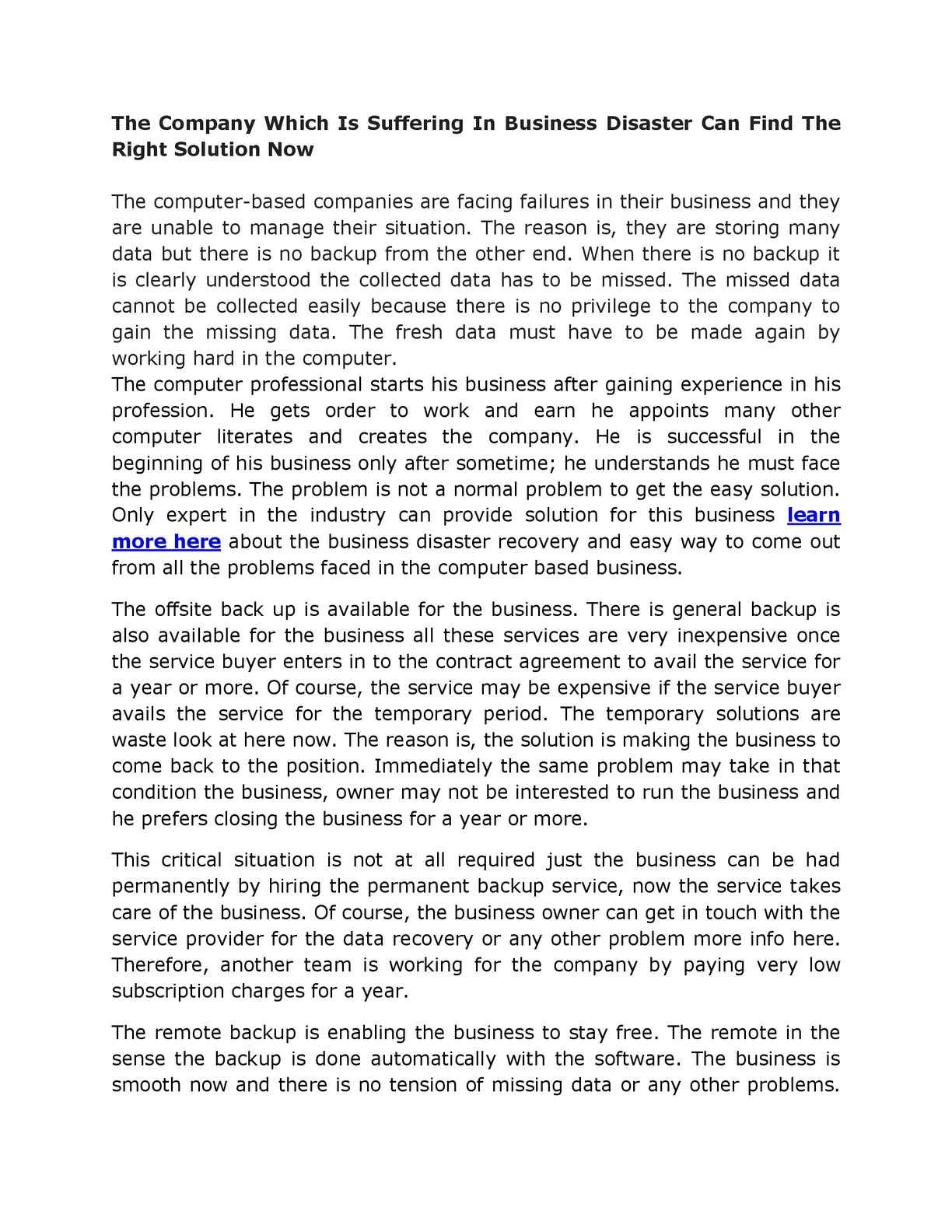 Calaméo - 129 Critical Data Backup Solutions