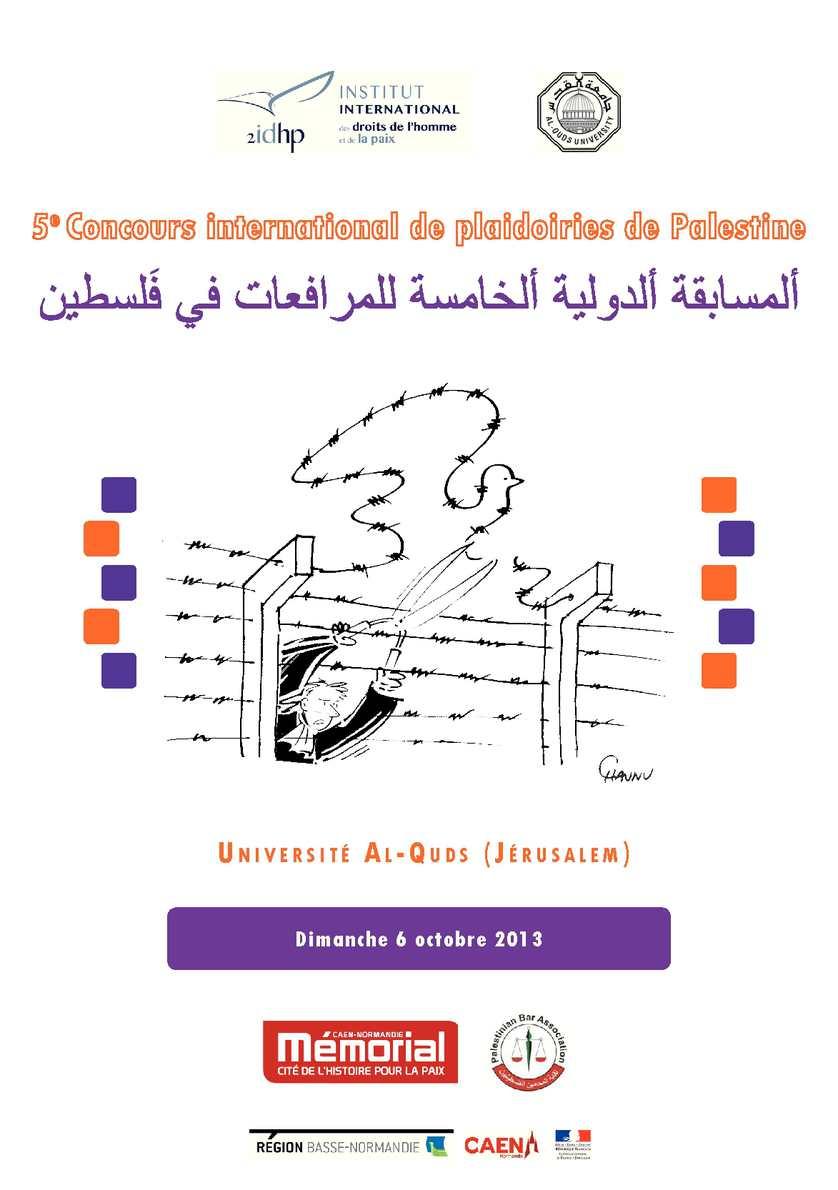 Calaméo Livret Plaidoiries Palestine V