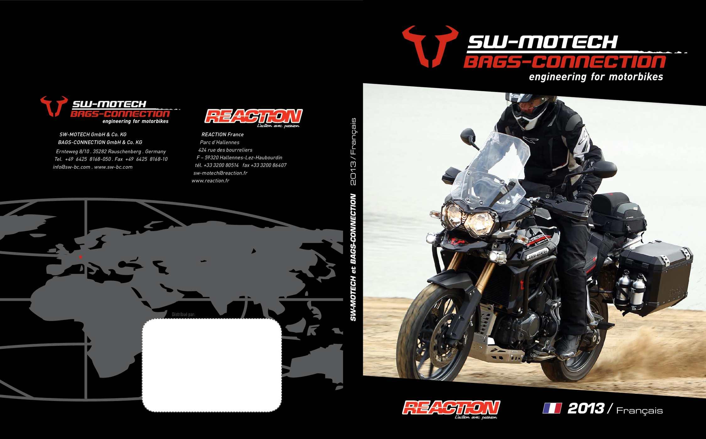 Guidon Augmentation 25 mm pour BMW R 1100 GS 93-99 noir bmw259