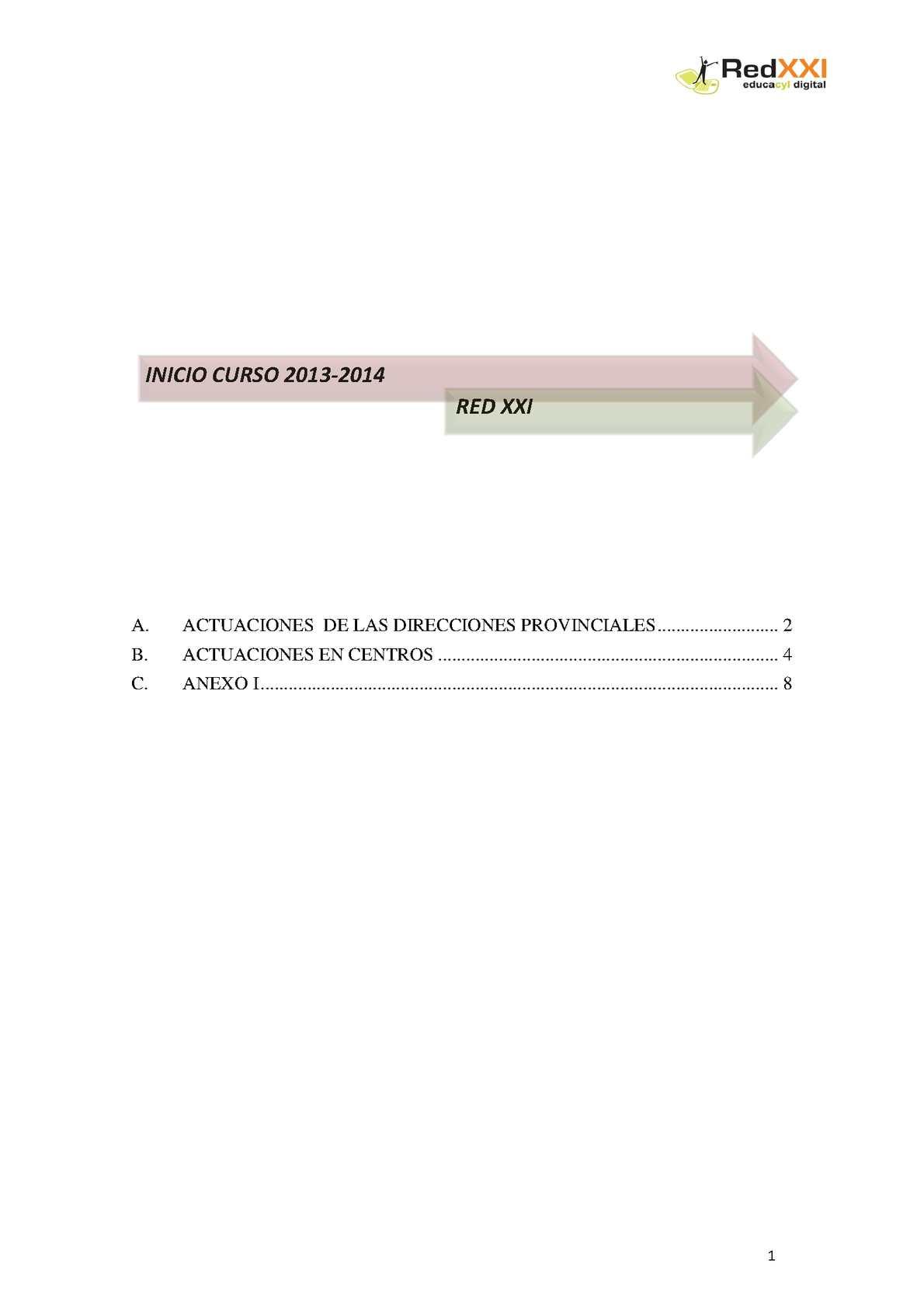 Calendario Educacyl.Calameo Red Xxi