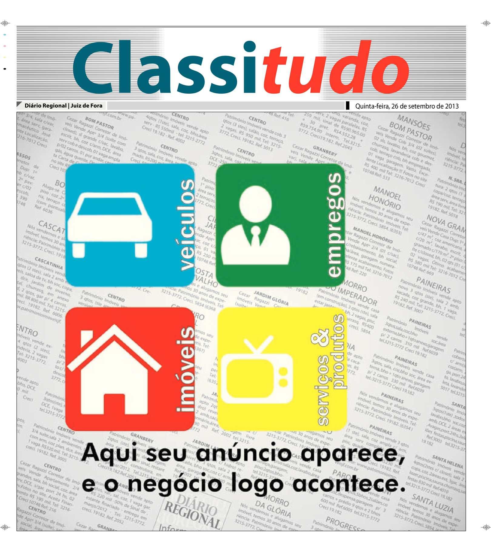 c118c097d Calaméo - Classificados 26 09 2013