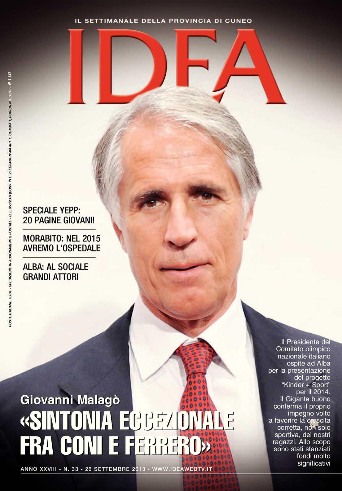 Calaméo - Rivista IDEA 33 - 26 settembre 2013 0c02189961f
