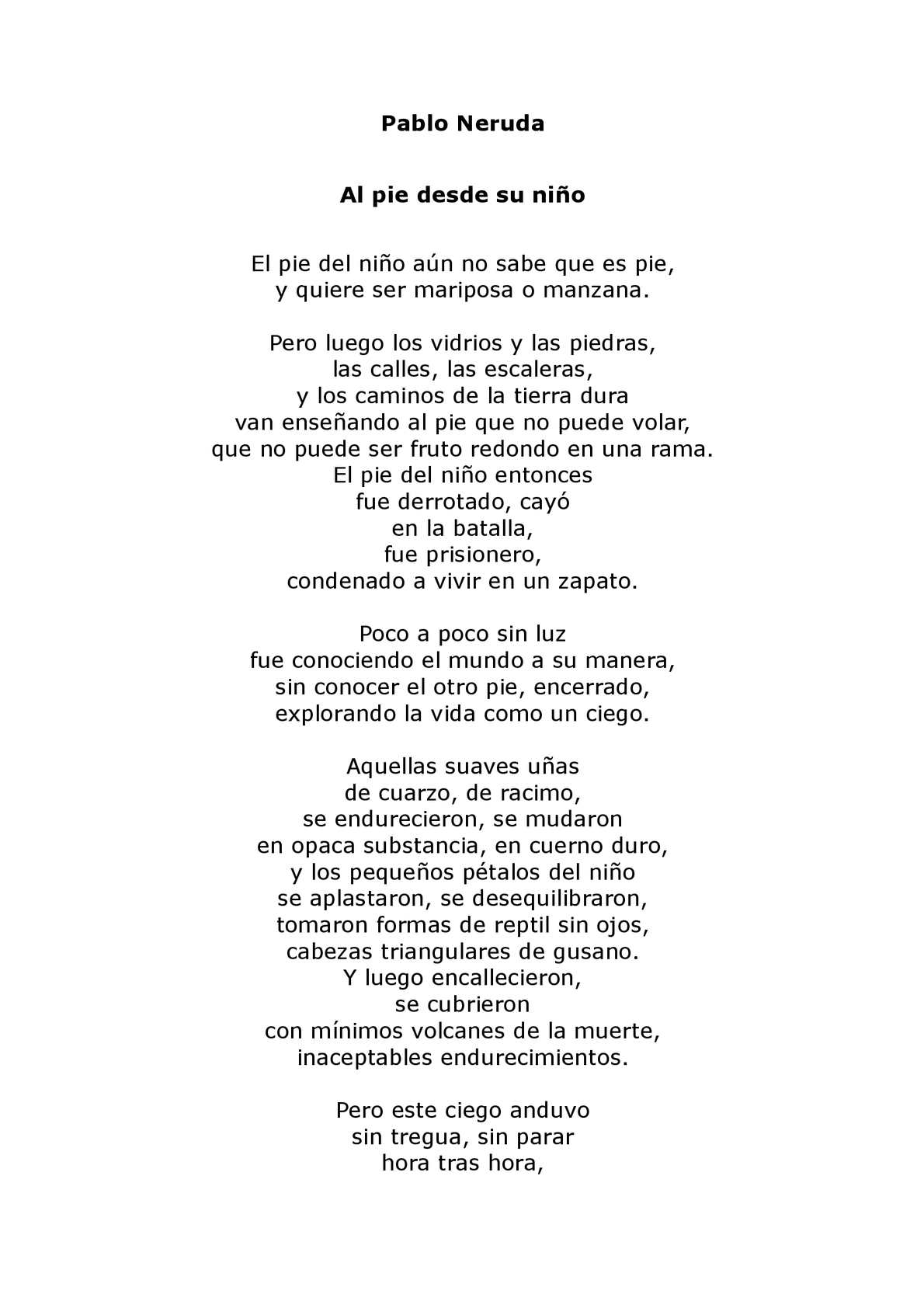 Calaméo Poema Pablo Neruda