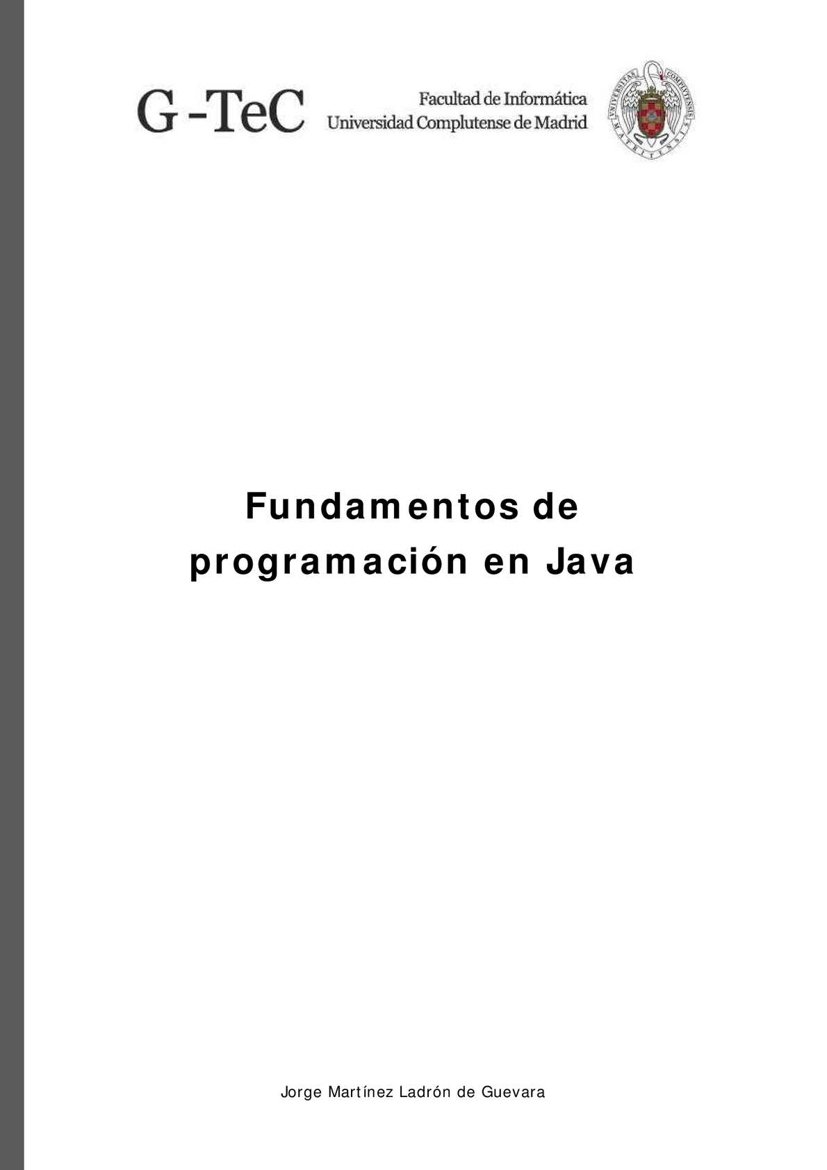 Calaméo Fundamentos De Java