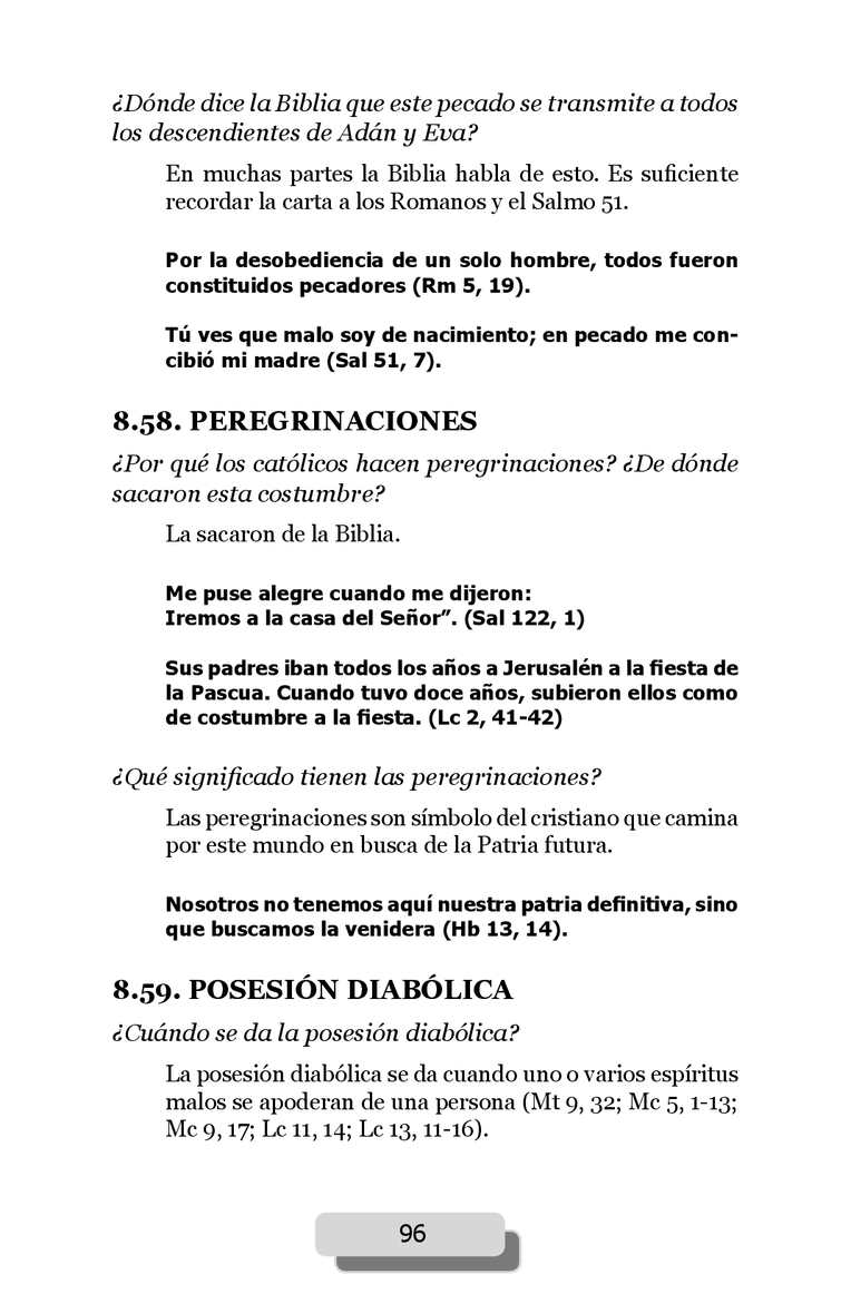 LA RESPUESTA ESTA EN LA BIBLIA - PADRE AMATULLI - CALAMEO