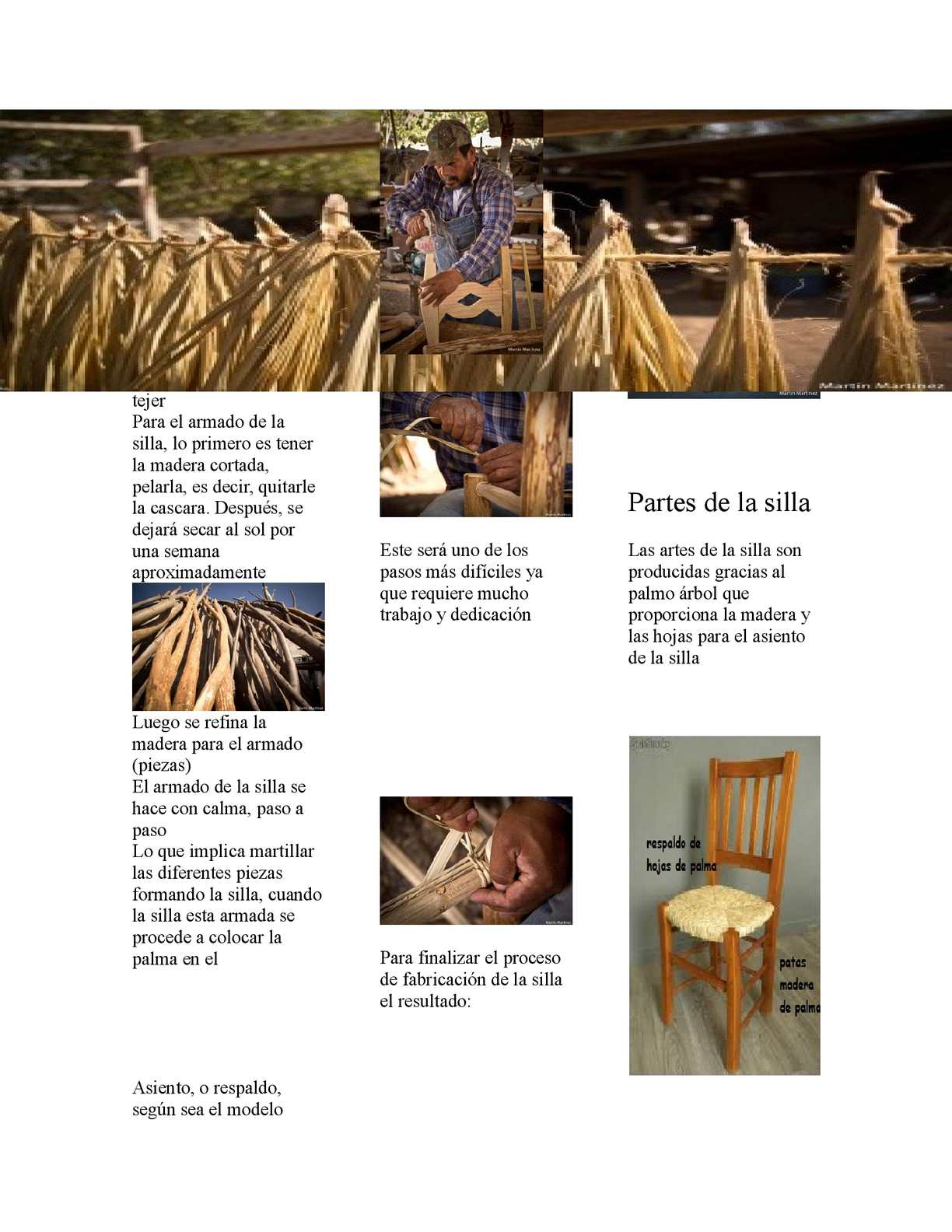 Calaméo - fabricacion de sillas artesanal