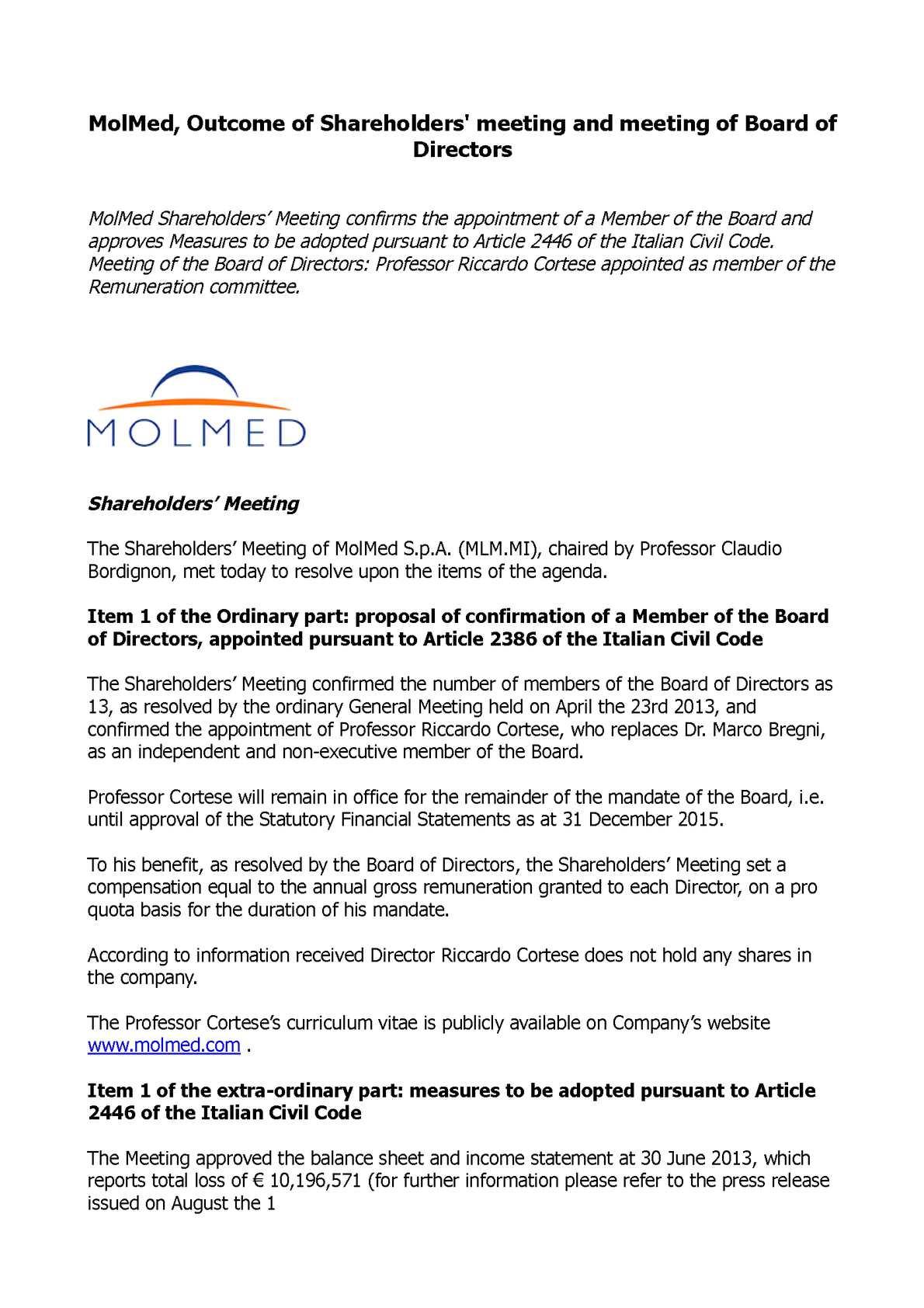 members guarantee in financial statement