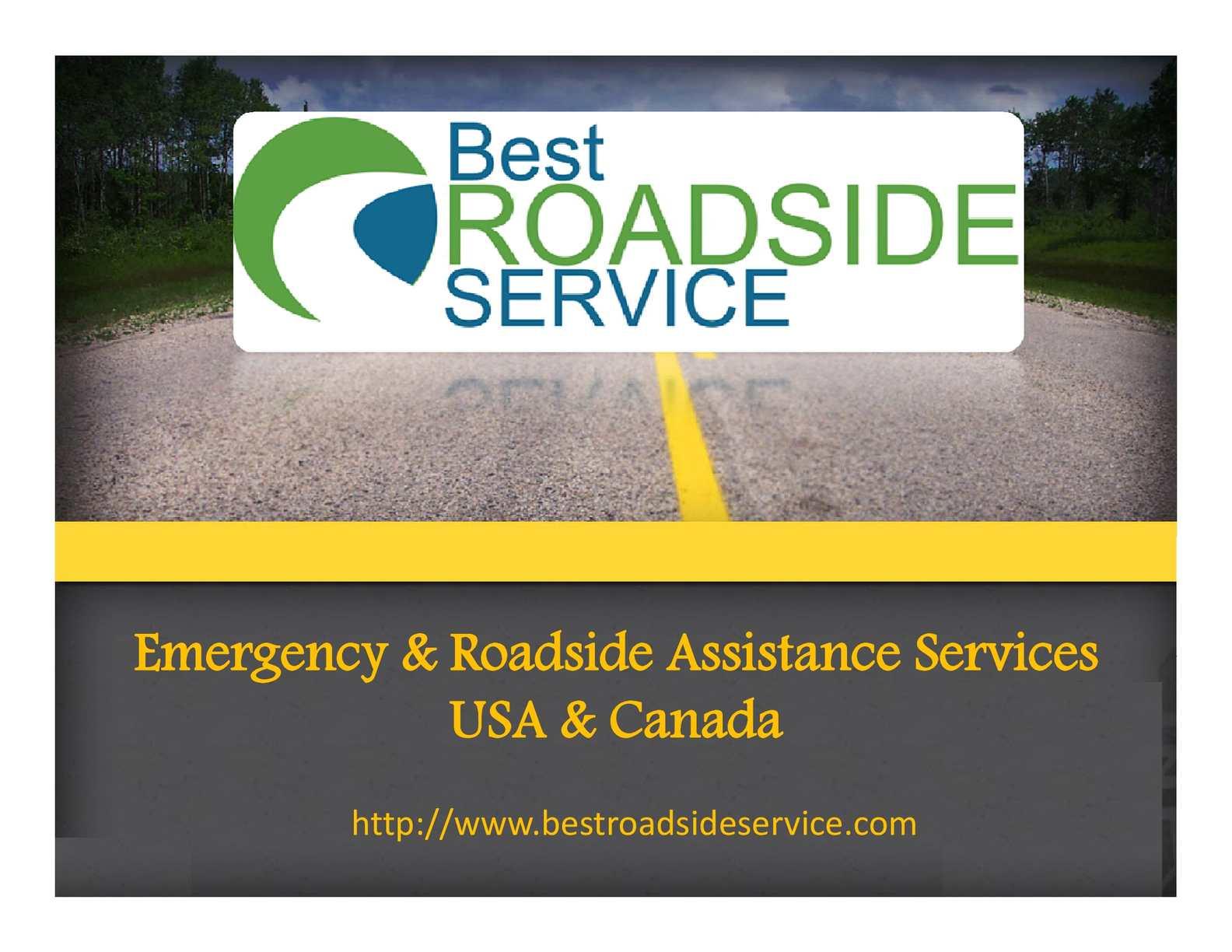 Calaméo - Best Roadside Services - Towing, Flat Tire Repair