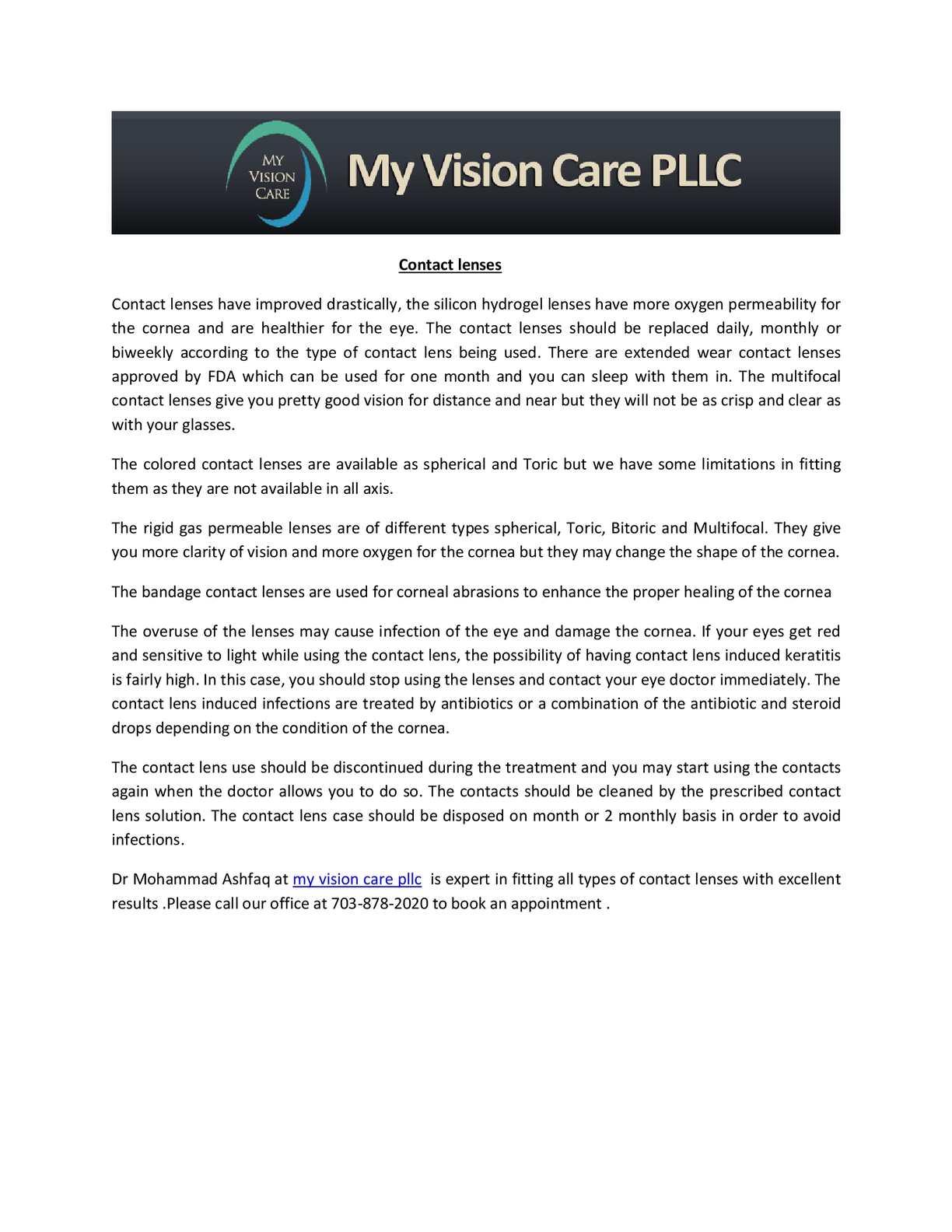 Best Multifocal Contact Lenses 2020.Calameo Contact Lenses