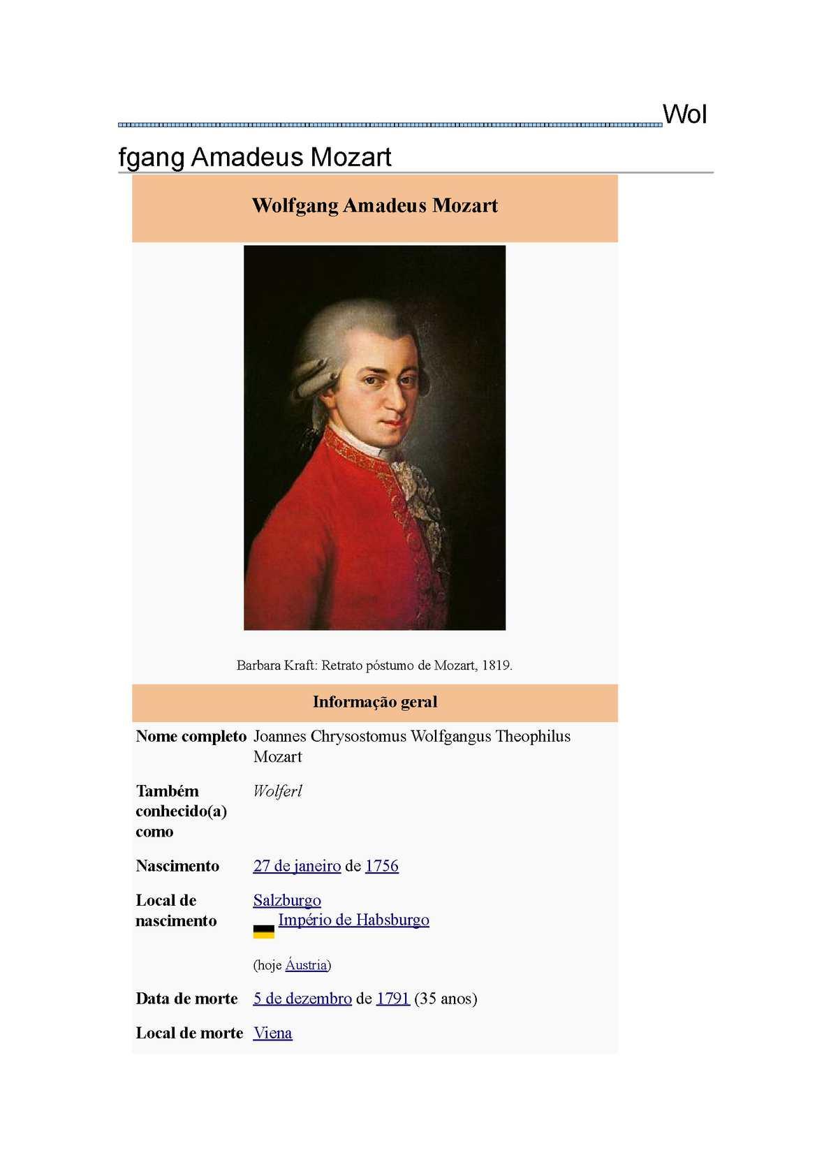 Calaméo - um pouco de Wolfgang Amadeus Mozart, um pouco de Ludwig van  Beethoven e um pouco de MythBusters
