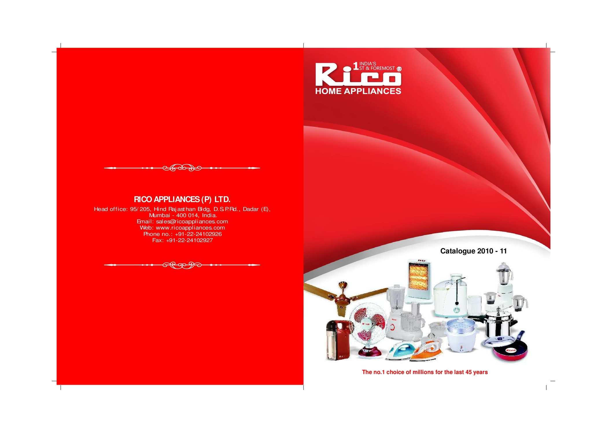 Calaméo Rico Catalogue