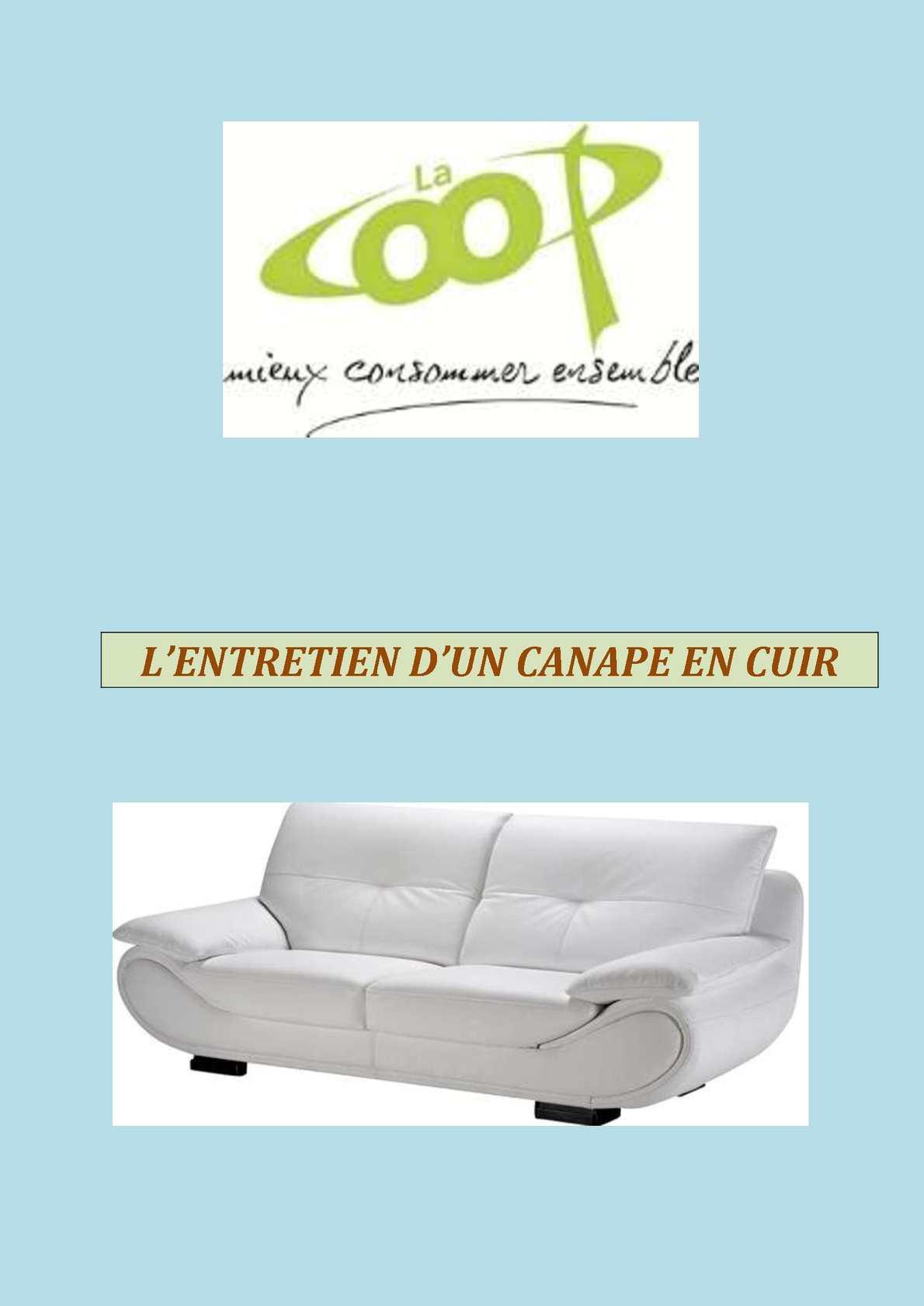 Entretenir Canape En Cuir calaméo - entretien canape cuir