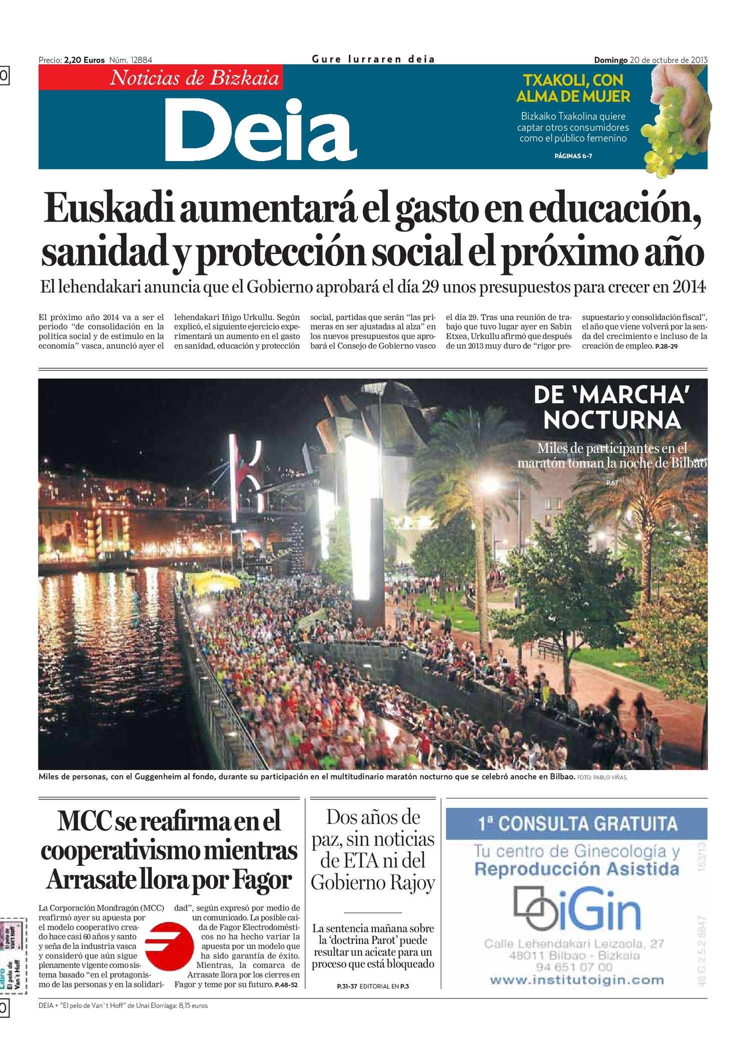Calendario Escolar Granada 2020 19.Calameo Deia 20131020