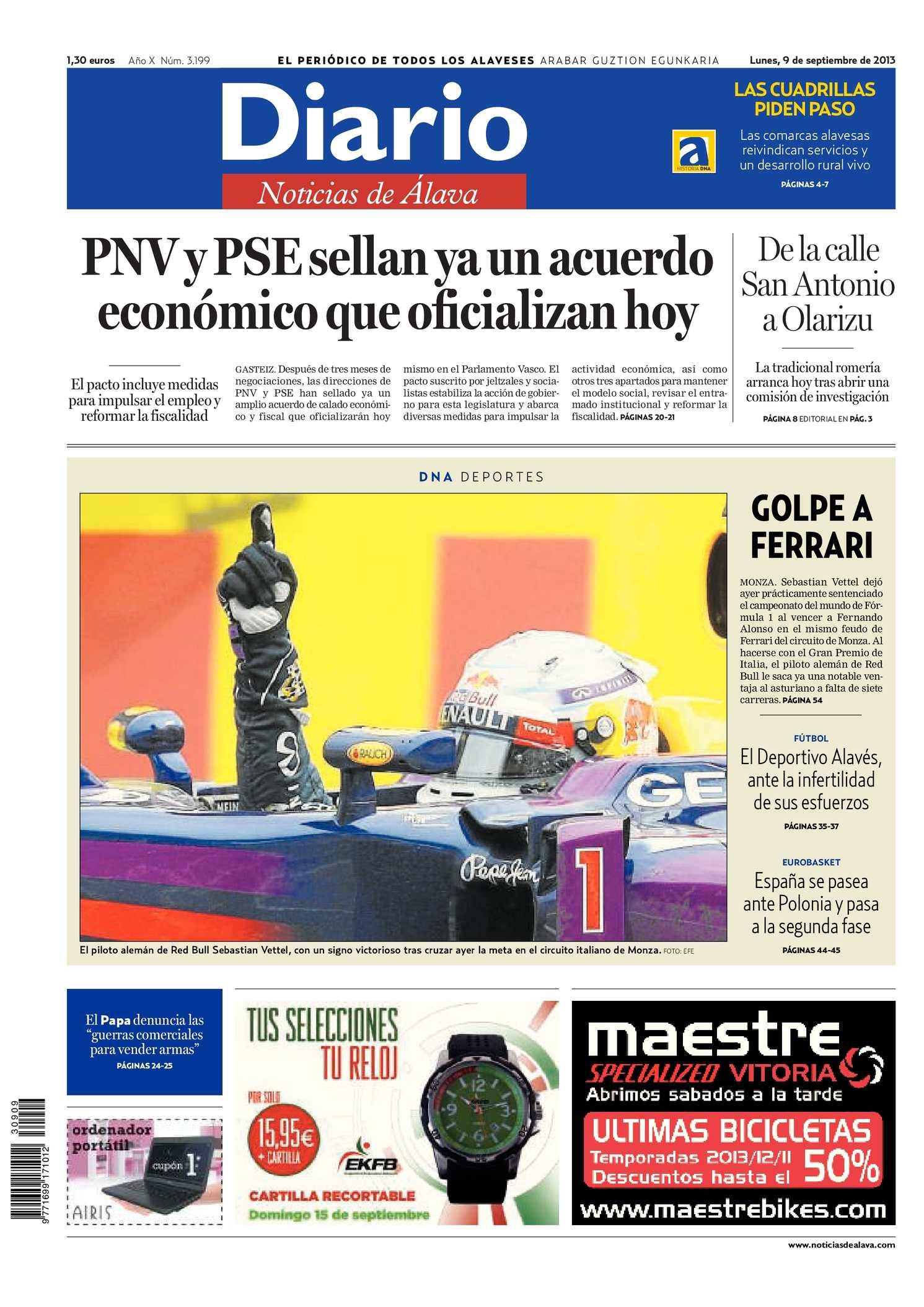 3e43d1076b09 Calaméo - Diario de Noticias de Álava 20130909
