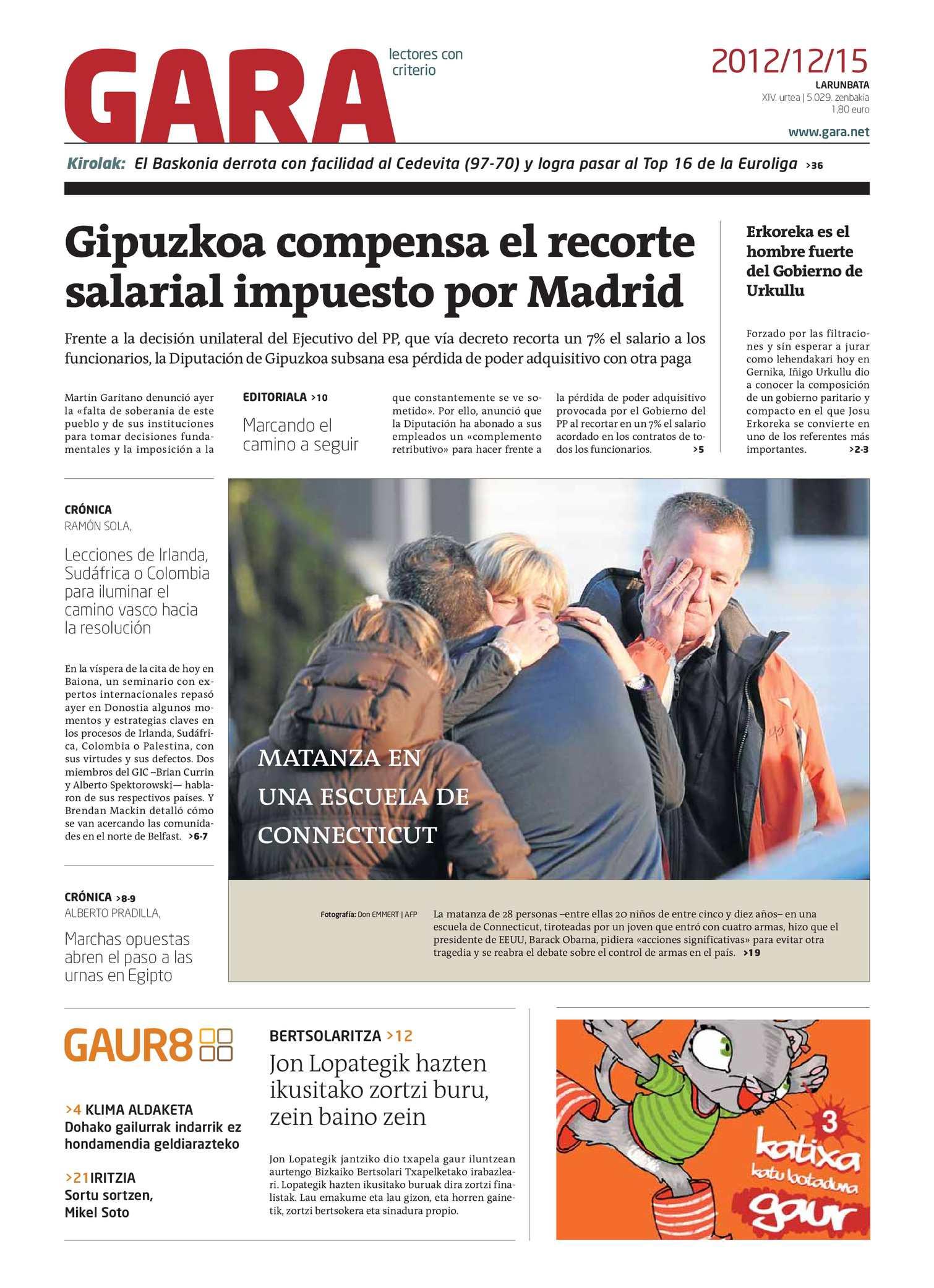 best service 40711 f0d22 Calaméo - GARA 20121215