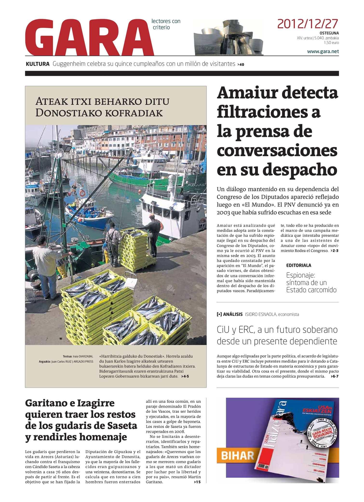 Calaméo - GARA 20121227