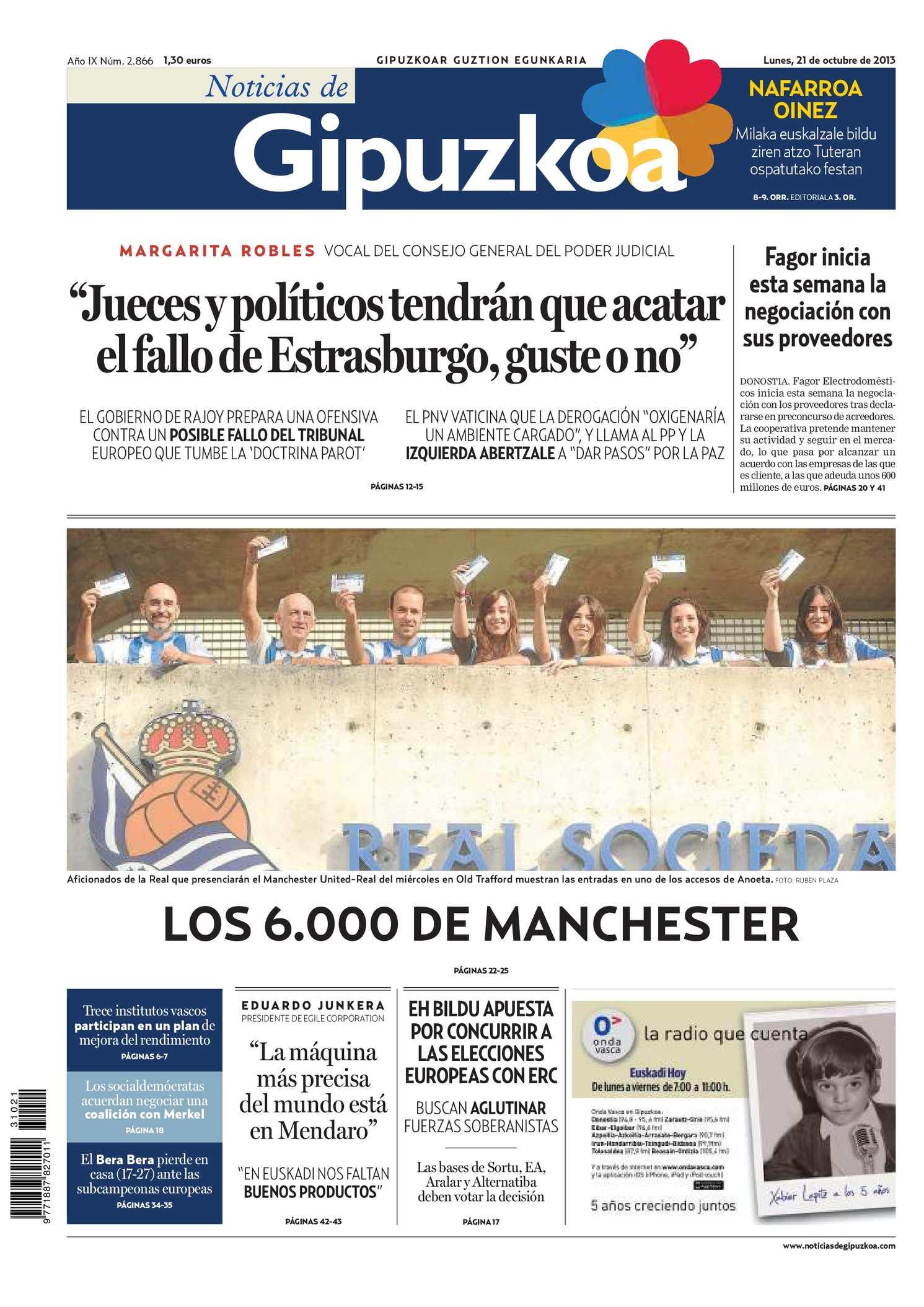 Calameo Noticias De Gipuzkoa 20131021