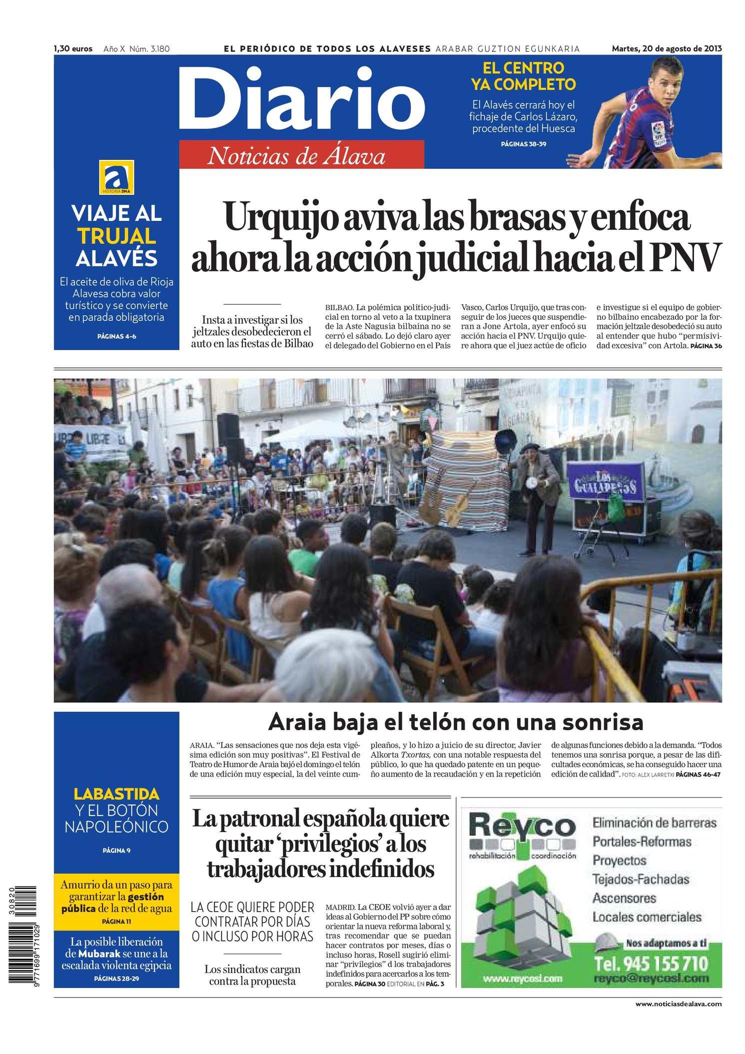 Calameo Diario De Noticias De Alava 20130820