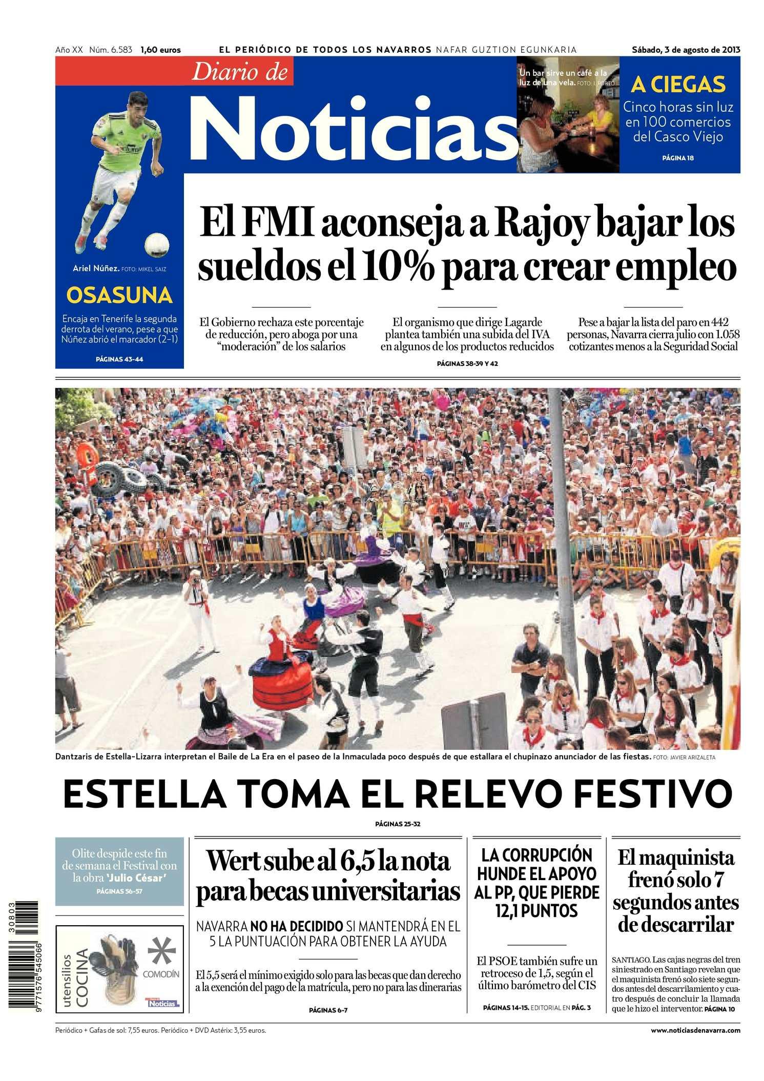 new concept 6615a 3a5cf Calaméo - Diario de Noticias 20130803