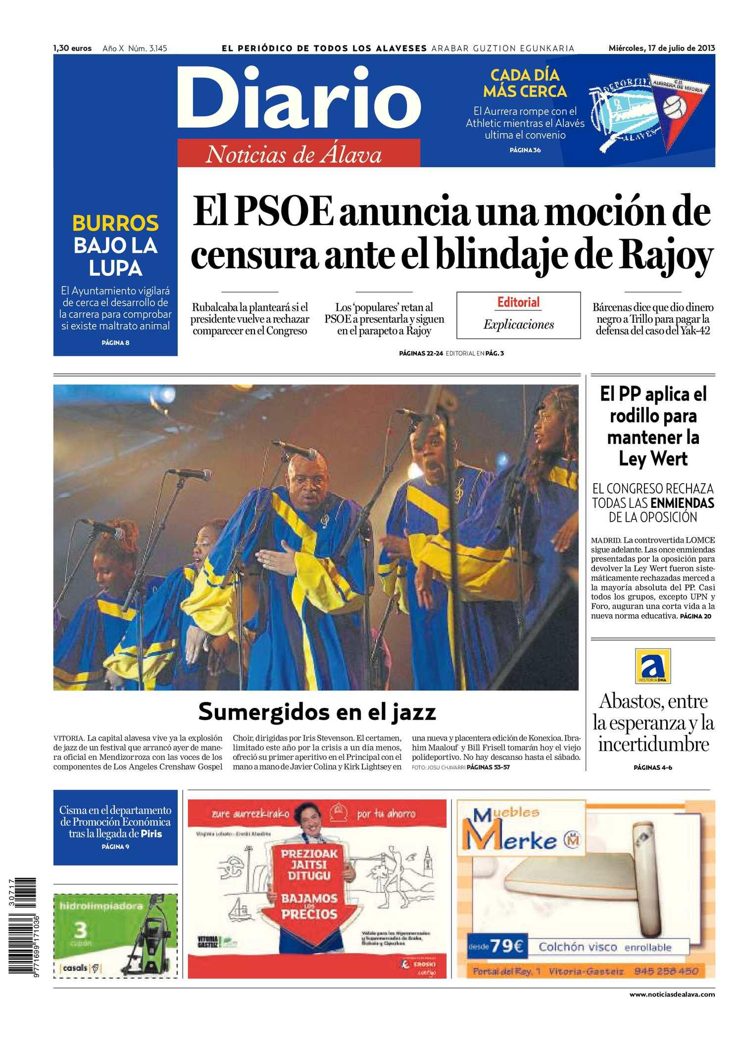 Calendario Escolar 2020 18 Aragon.Calameo Diario De Noticias De Alava 20130717