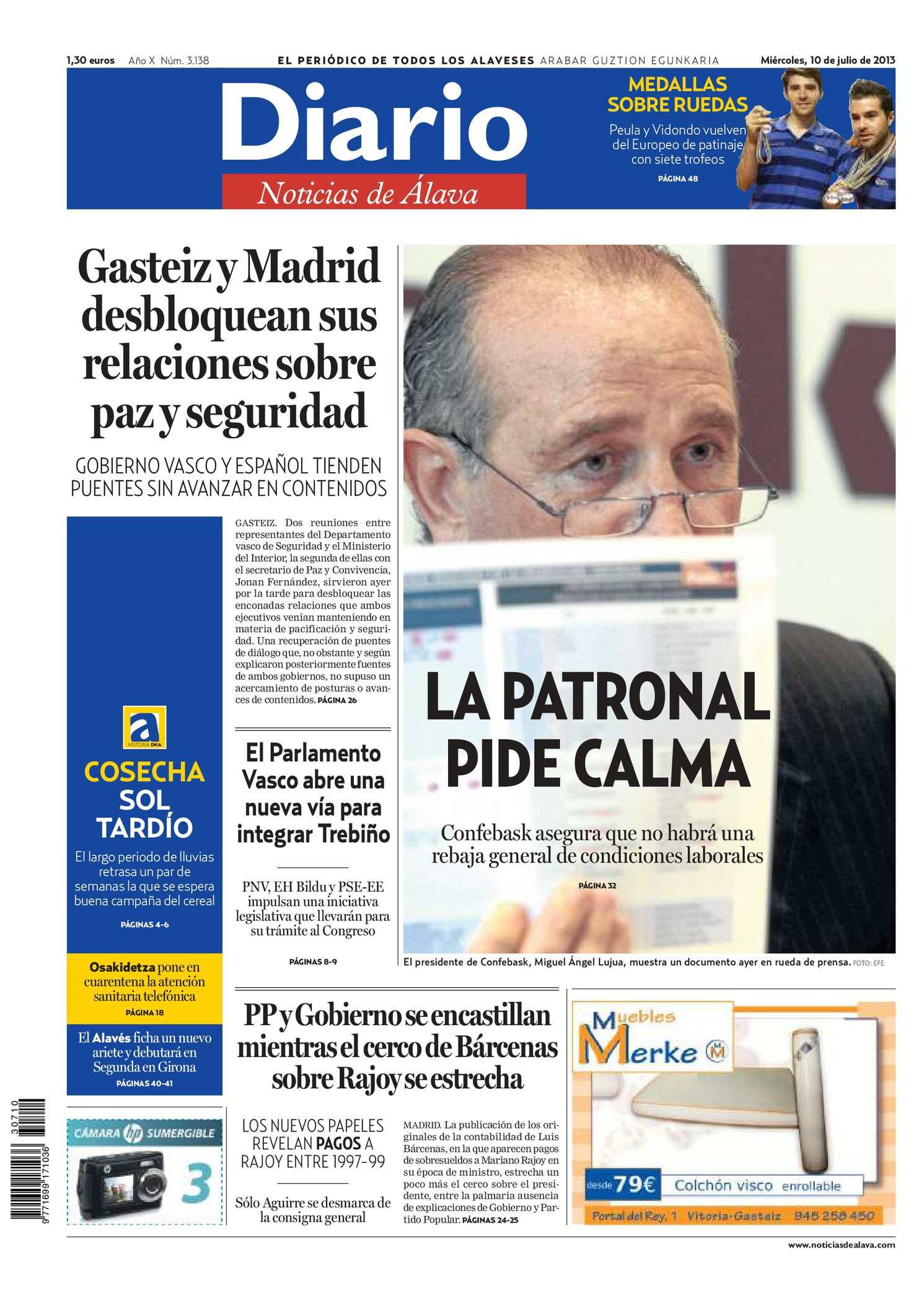 Calendario Escolar Granada 2020 19.Calameo Diario De Noticias De Alava 20130710
