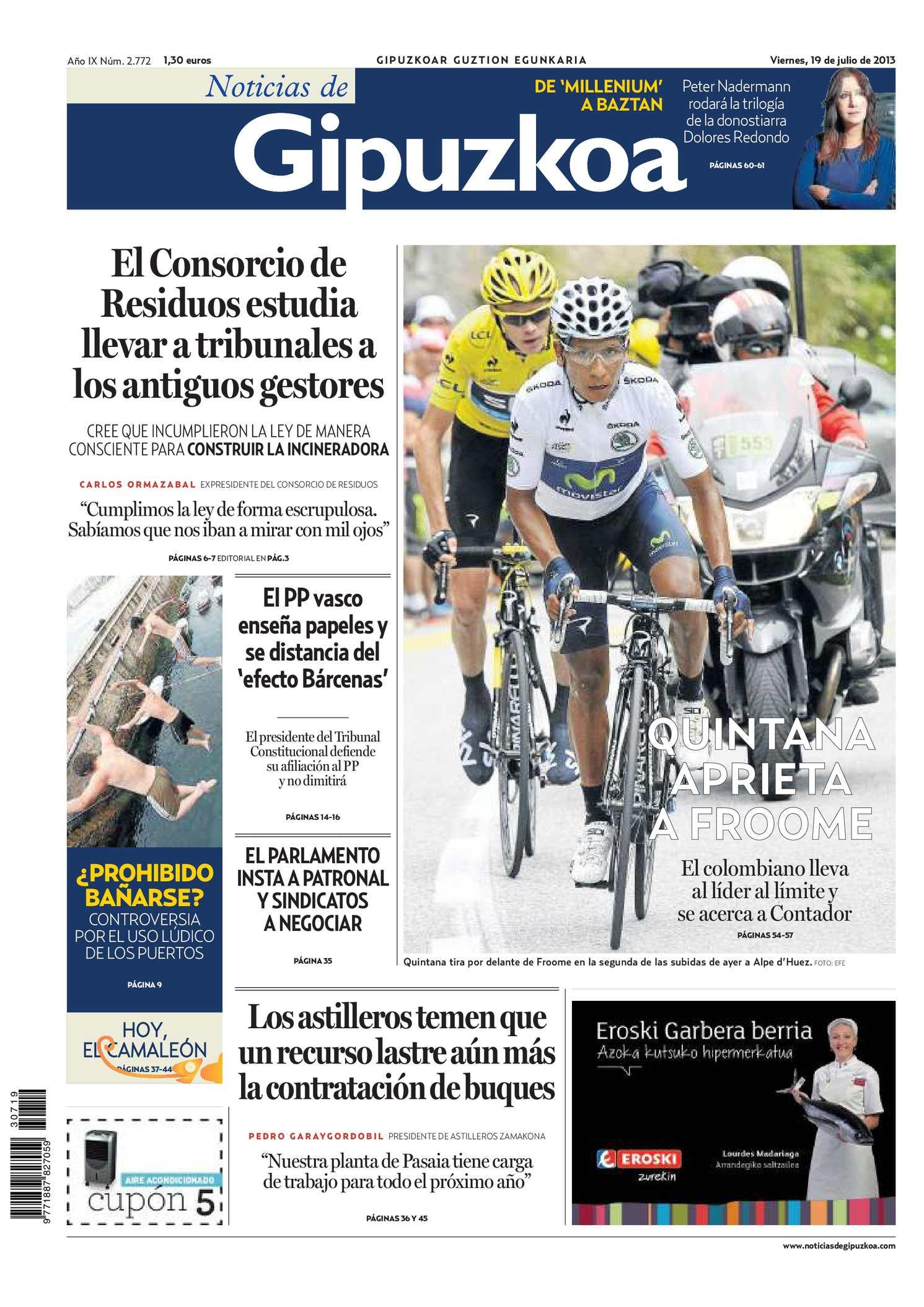 2c17fce9579 Calaméo - Noticias de Gipuzkoa 20130719