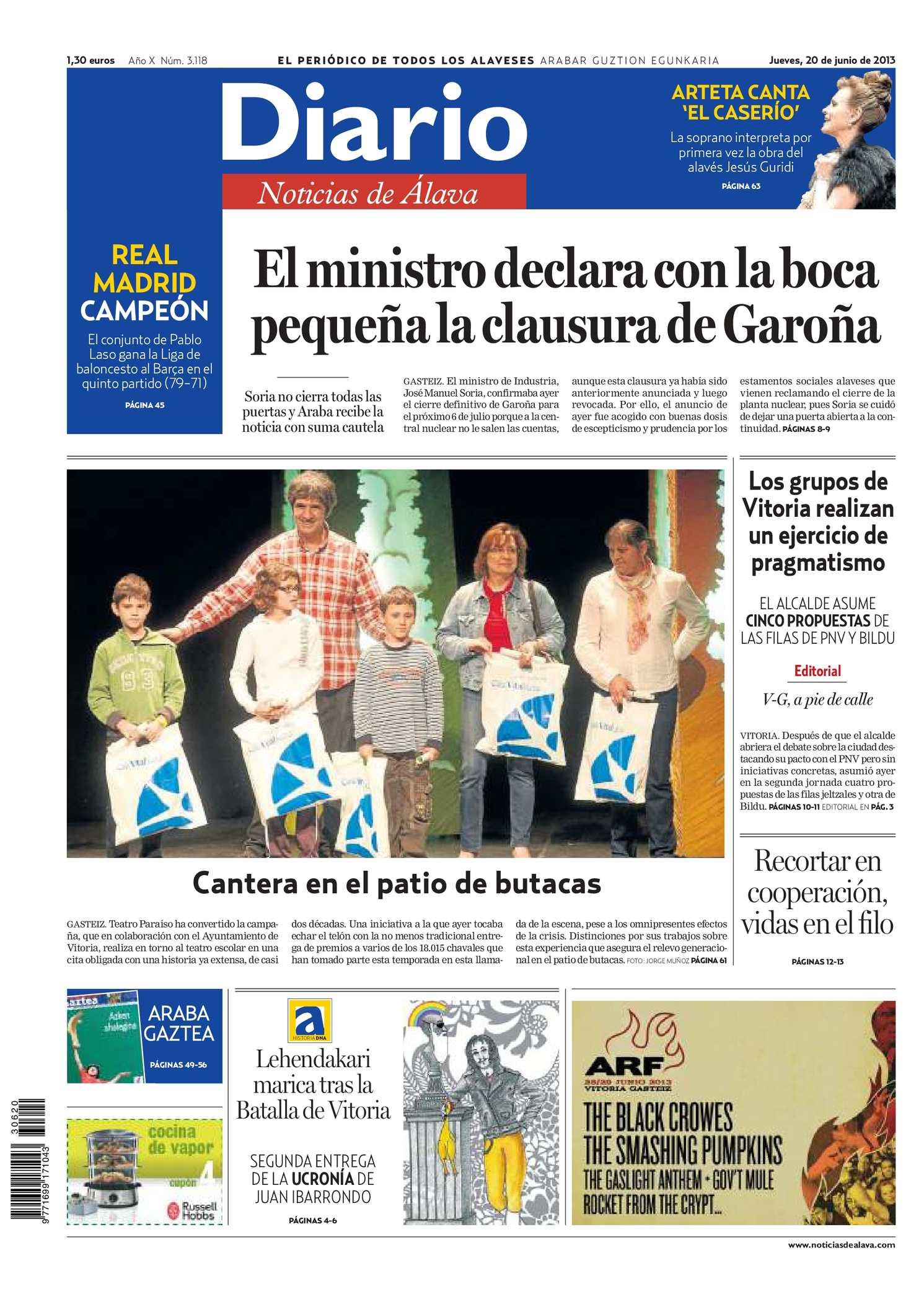 separation shoes ad787 714f0 Calaméo - Diario de Noticias de Álava 20130620