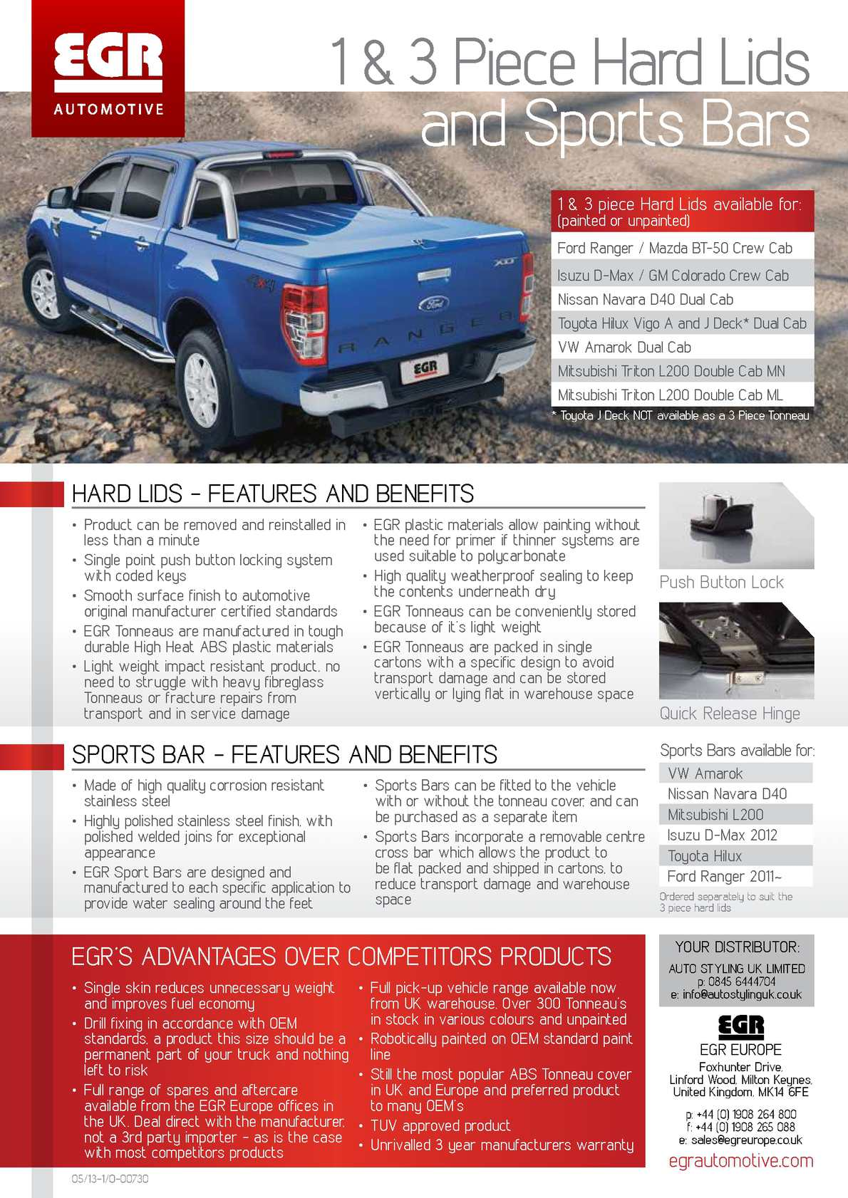 Calameo Tonneau Flyer Advantages