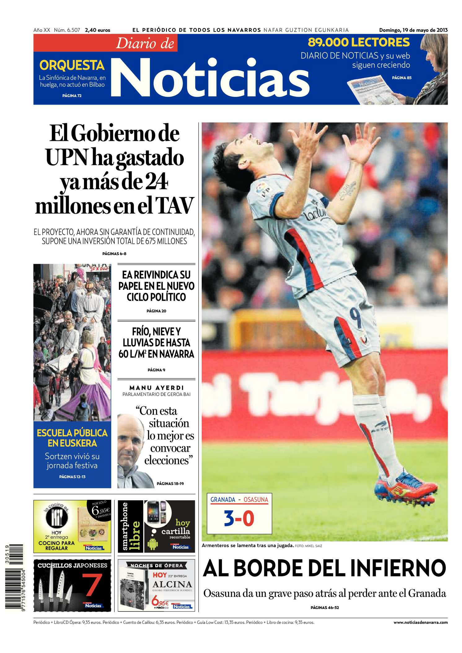 Calaméo - Diario de Noticias 20130519 9989d09b63e16