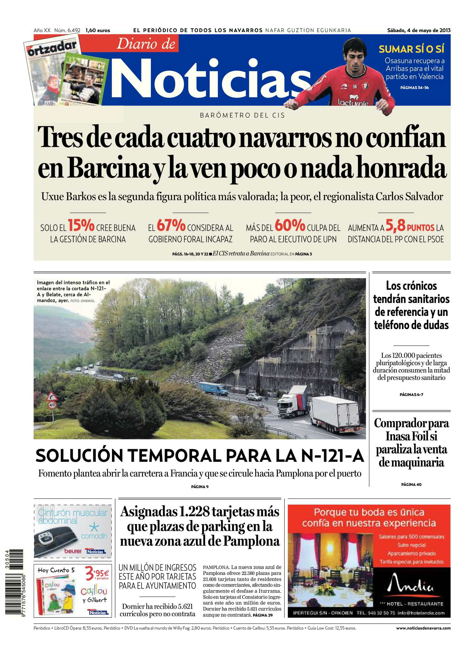check out 01a9f 2f739 Calaméo - Diario de Noticias 20130504