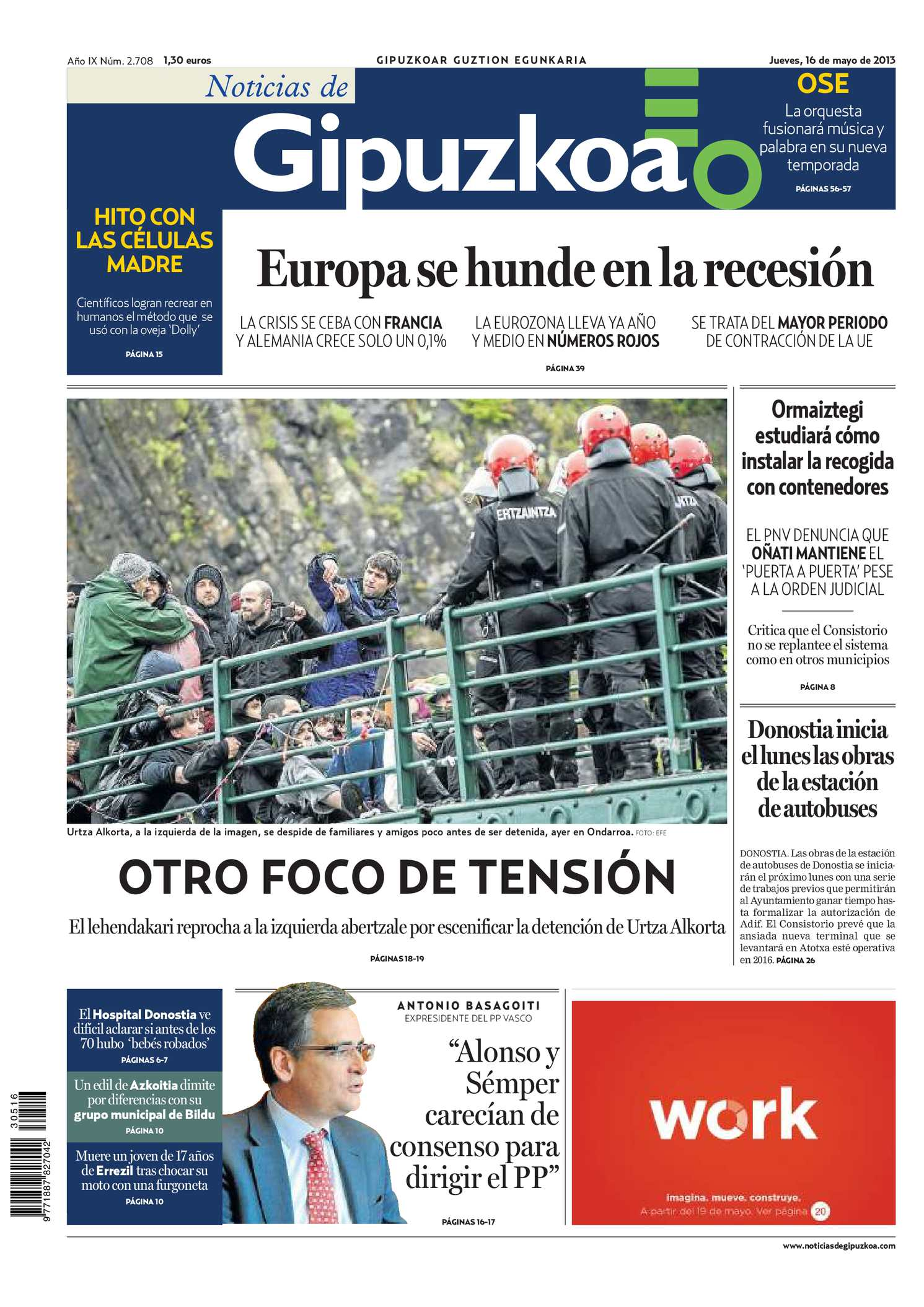 Calaméo Noticias De Gipuzkoa 20130516