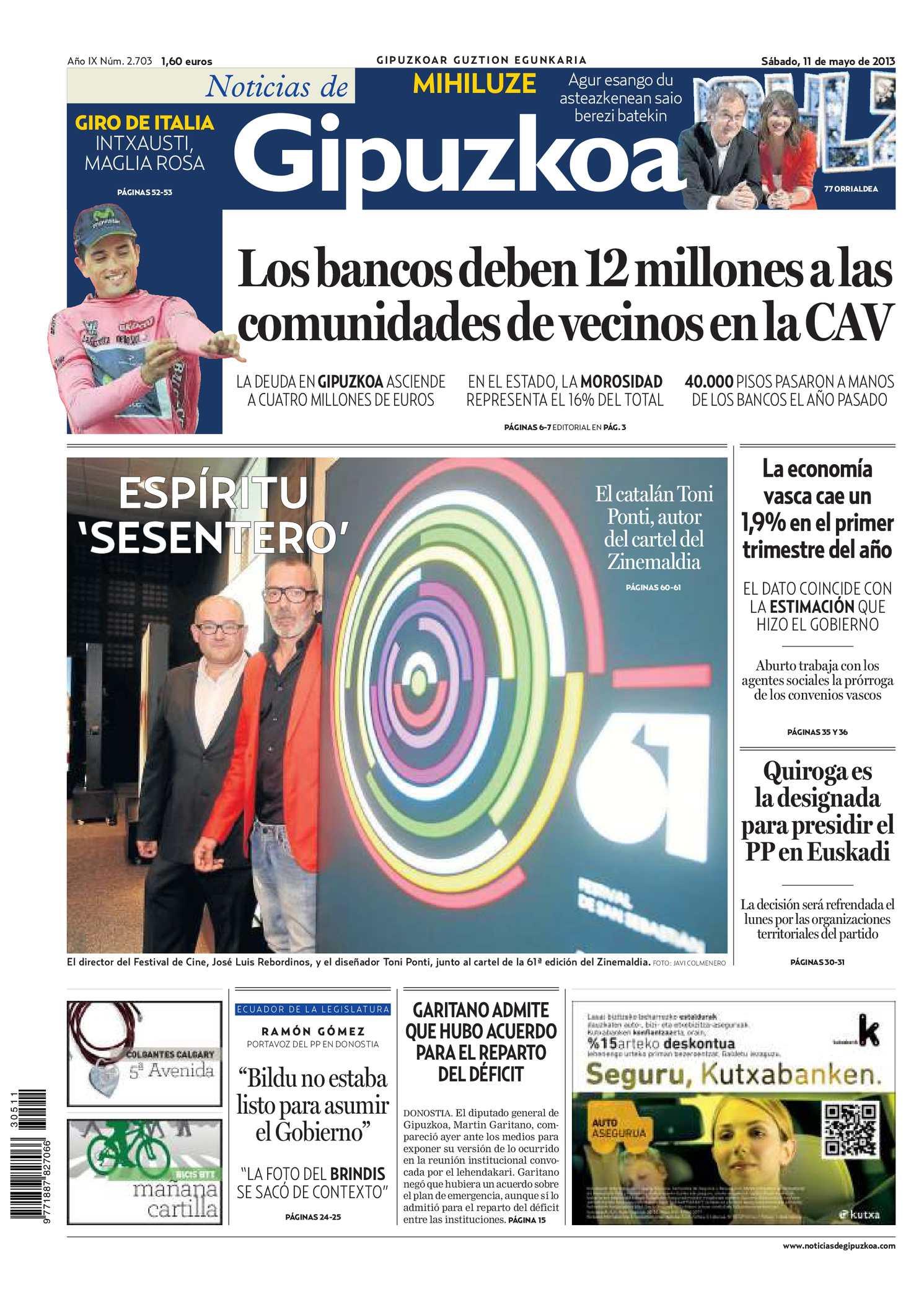 2893d560c Calaméo - Noticias de Gipuzkoa 20130511