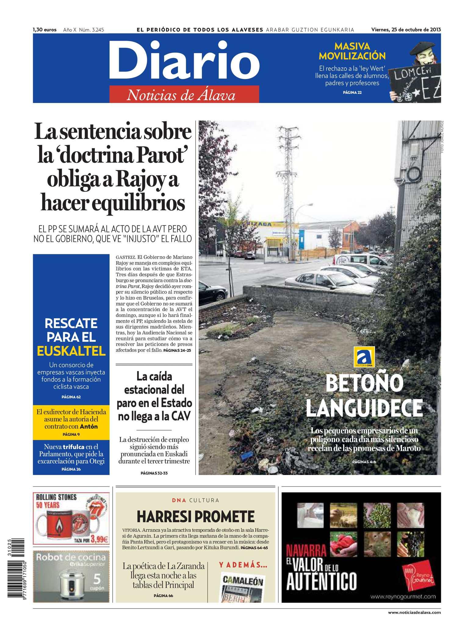 9d6ca3798bf9 Calaméo - Diario de Noticias de Álava 20131025