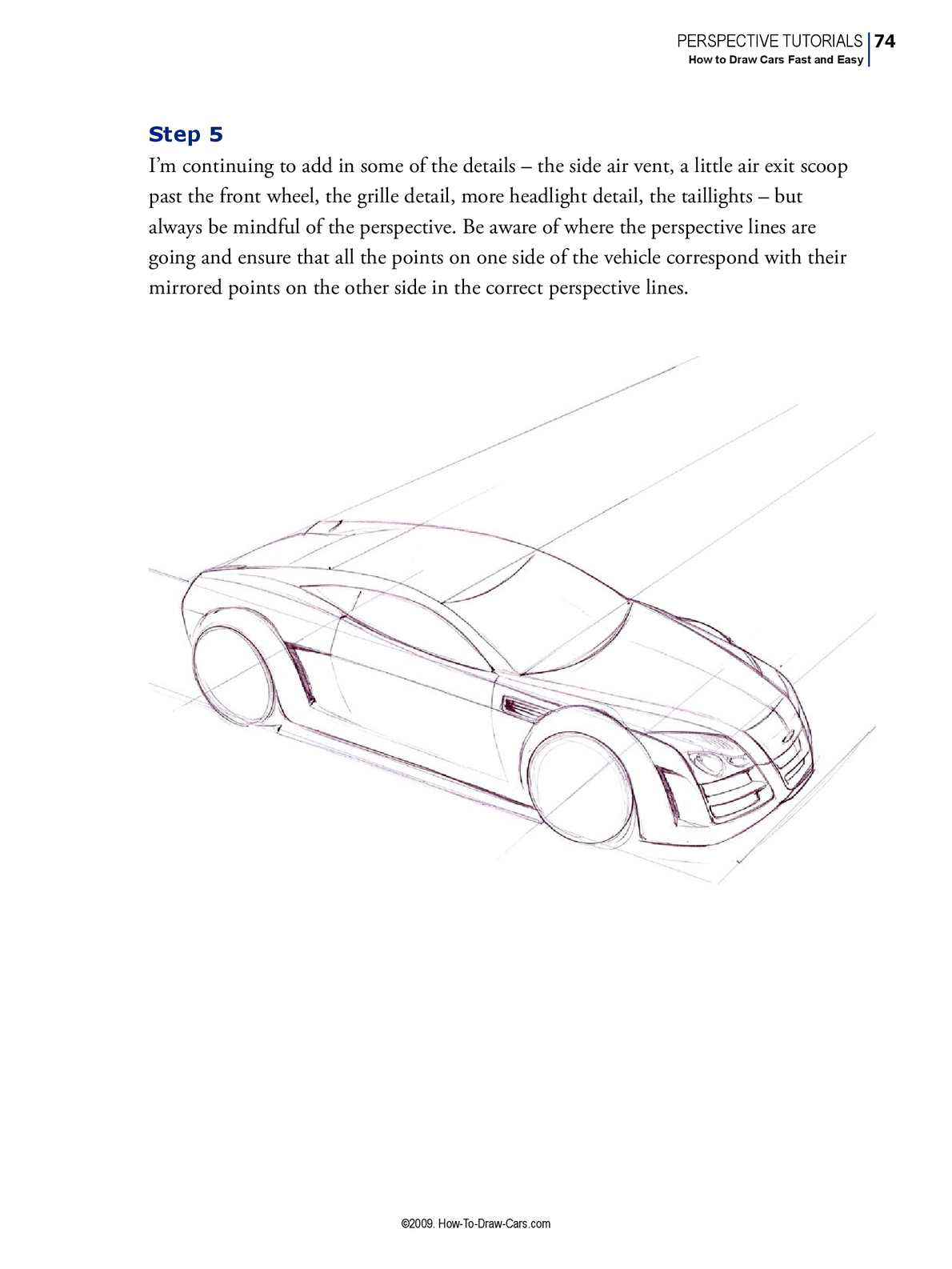 How To Draw Cars Fast And Easy Calameo Downloader