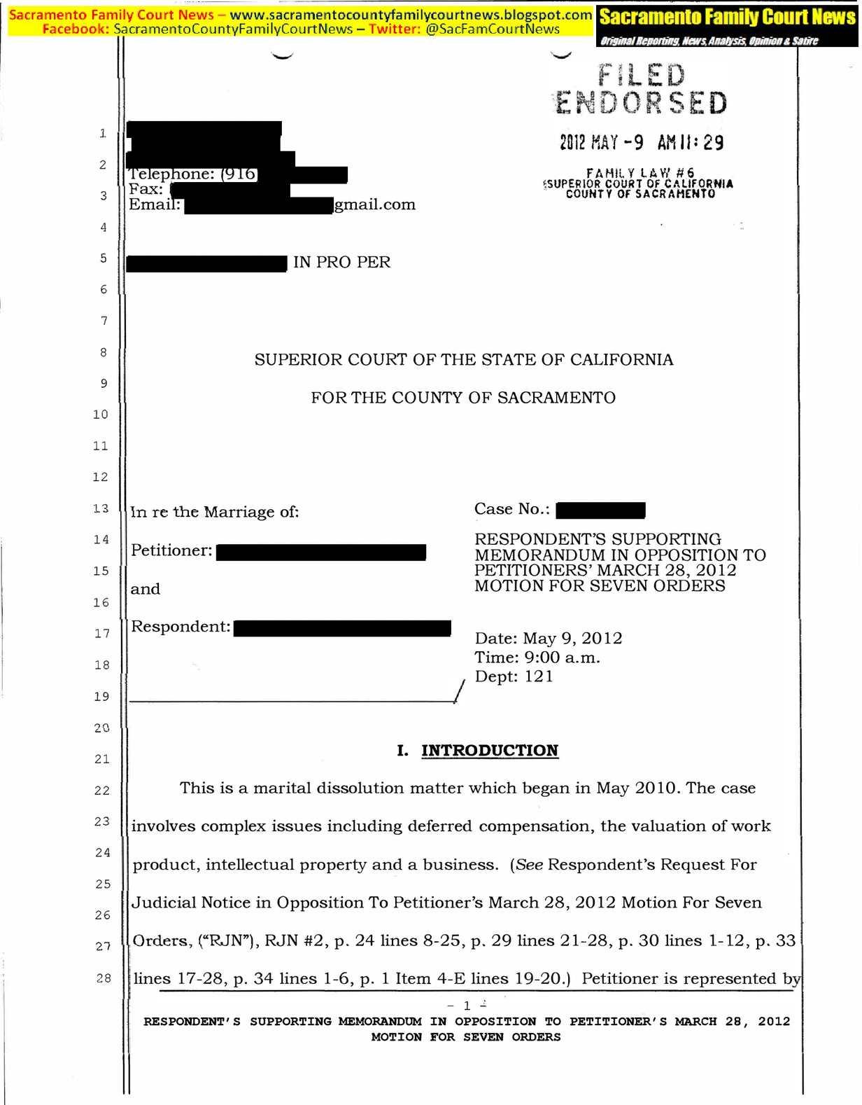 Calaméo - Lawyer Paula Salinger Misconduct Sacramento Family