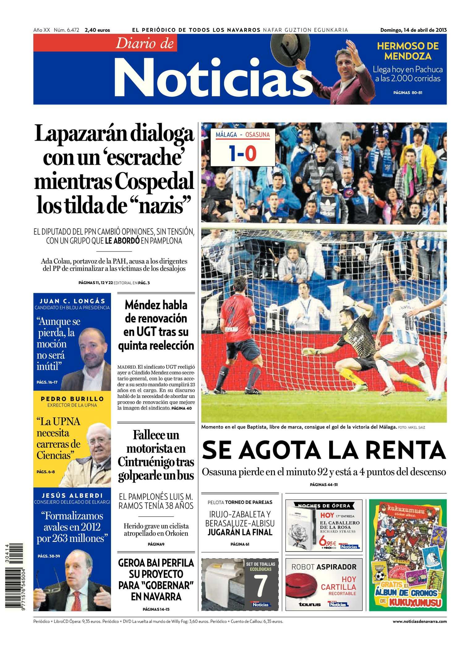 5ca9fdf87e Calaméo - Diario de Noticias 20130414