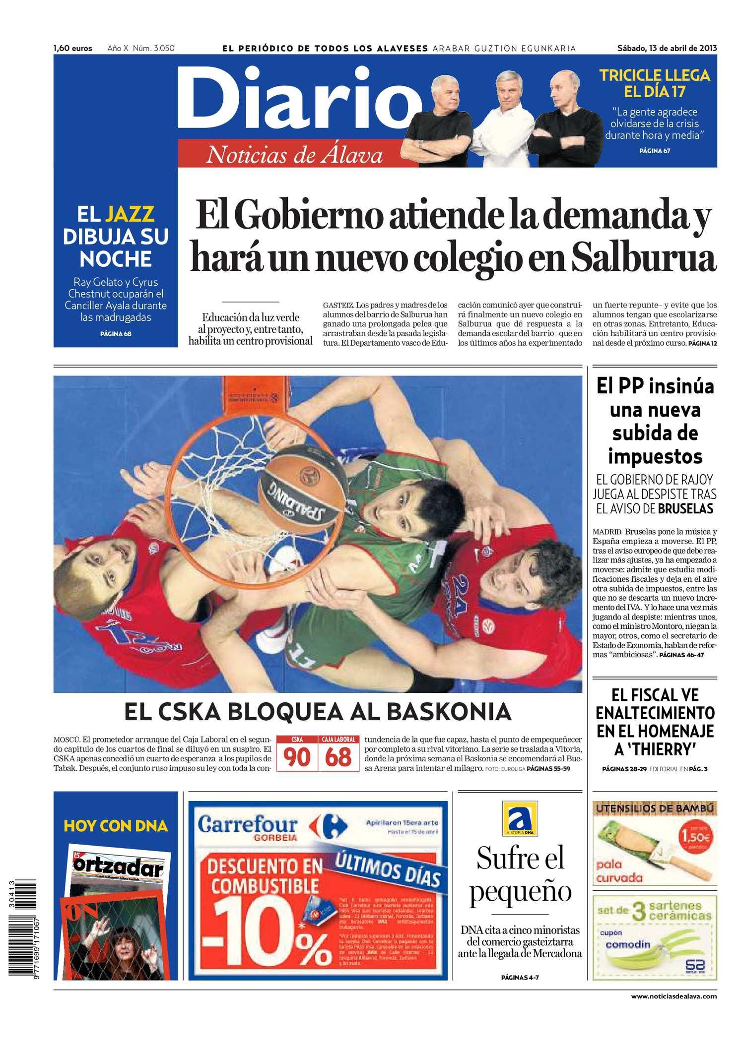 san francisco e0b93 9d6d0 Calaméo - Diario de Noticias de Álava 20130413