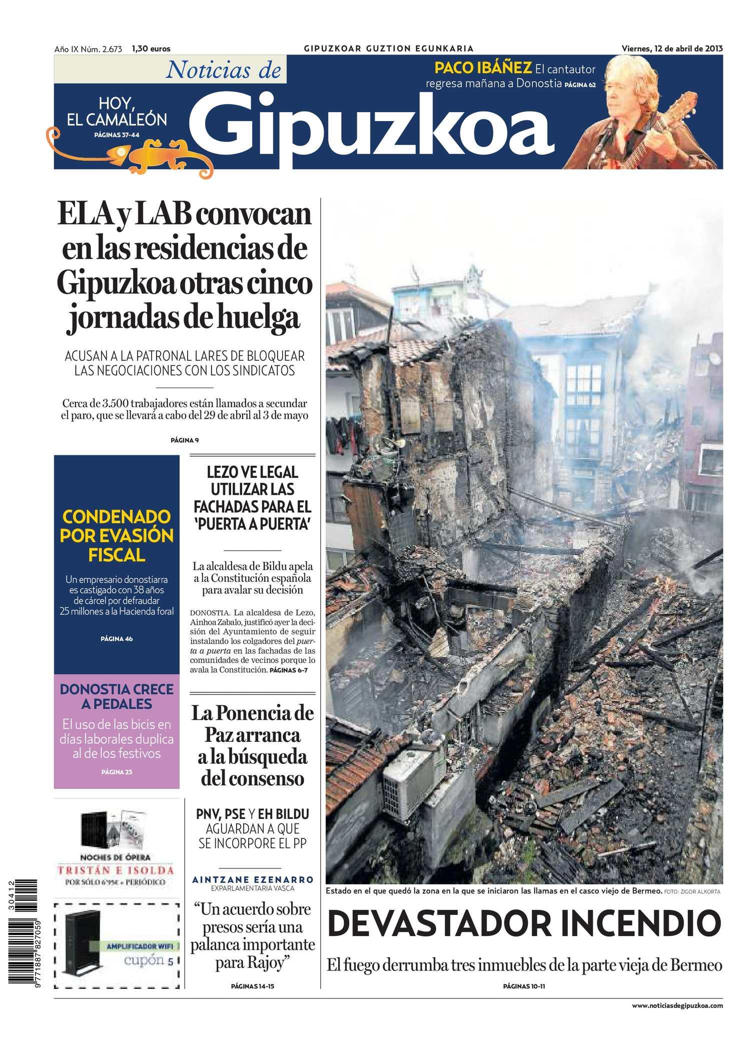 reputable site 0251d f7867 Calaméo - Noticias de Gipuzkoa 20130412