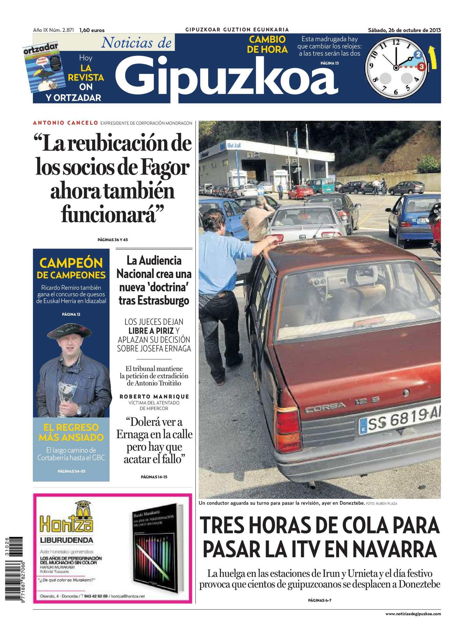 ab95aebf36b Calaméo - Noticias de Gipuzkoa 20131026