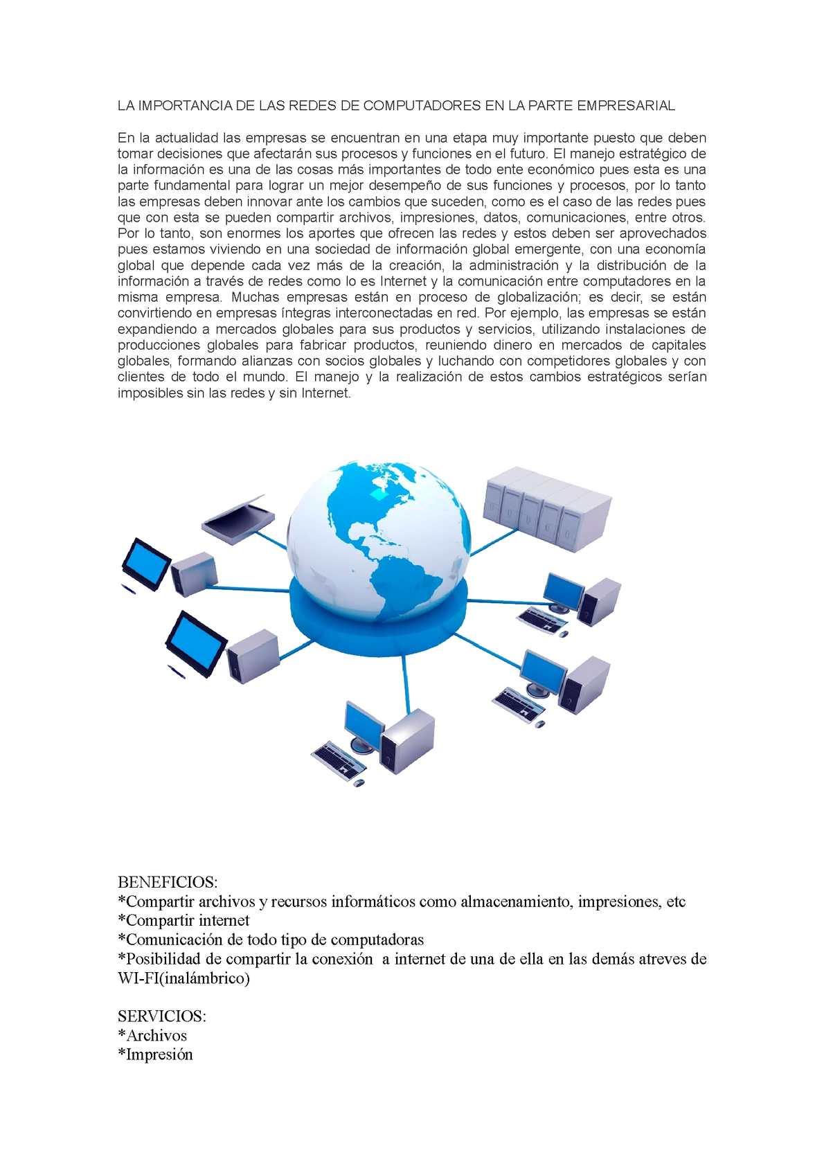 Calaméo - IMPORTANCIA DE LA RED DE COMPUTADORAS