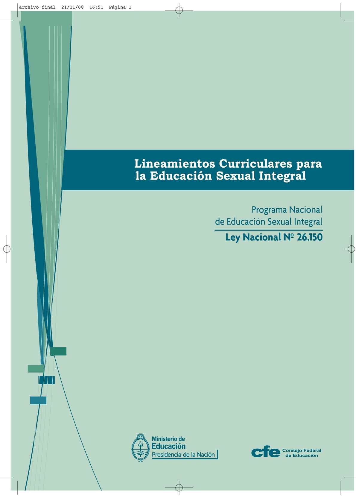 Calaméo Lineamientos Curriculares Esi Nivel Secundario