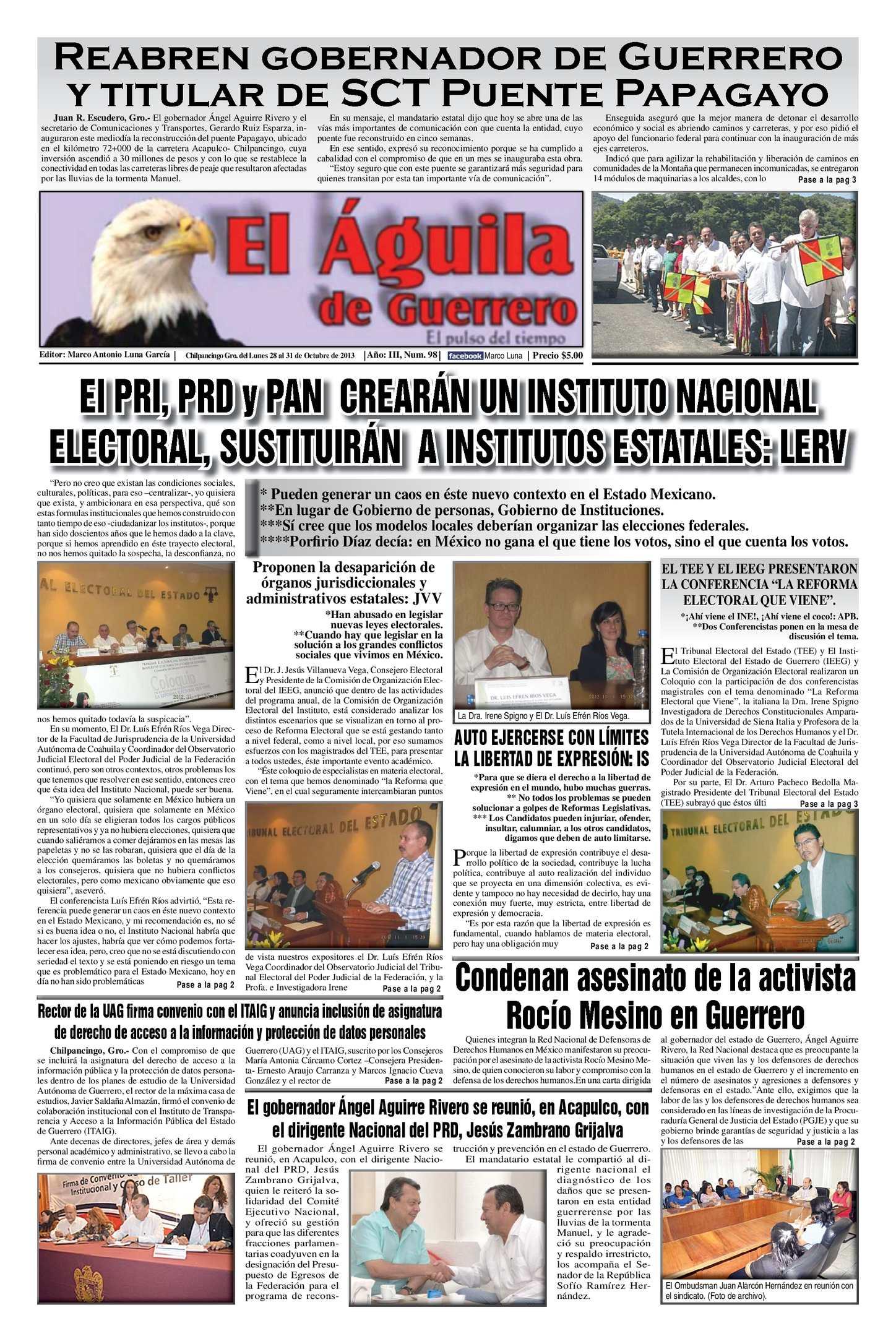Calaméo El Aguila De Guerrero Num 98