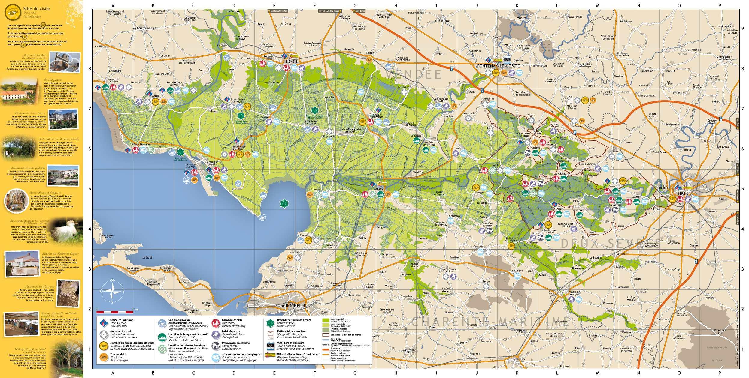 Carte Venise Verte.Calameo Carte Touristique Du Marais Poitevin