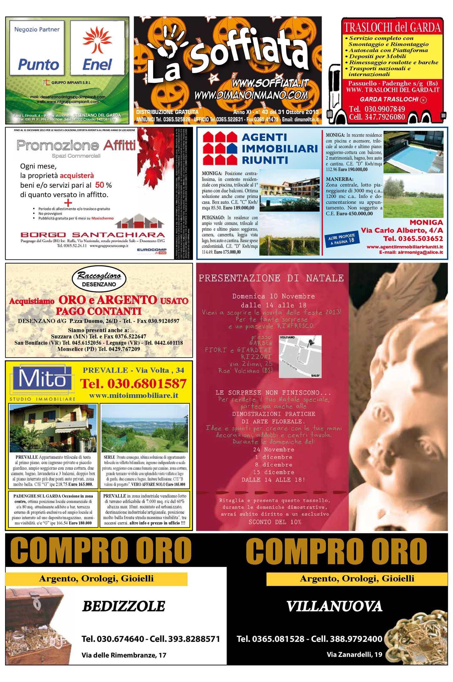 Calaméo - La Soffiata 31-10-2013 bf40061135db