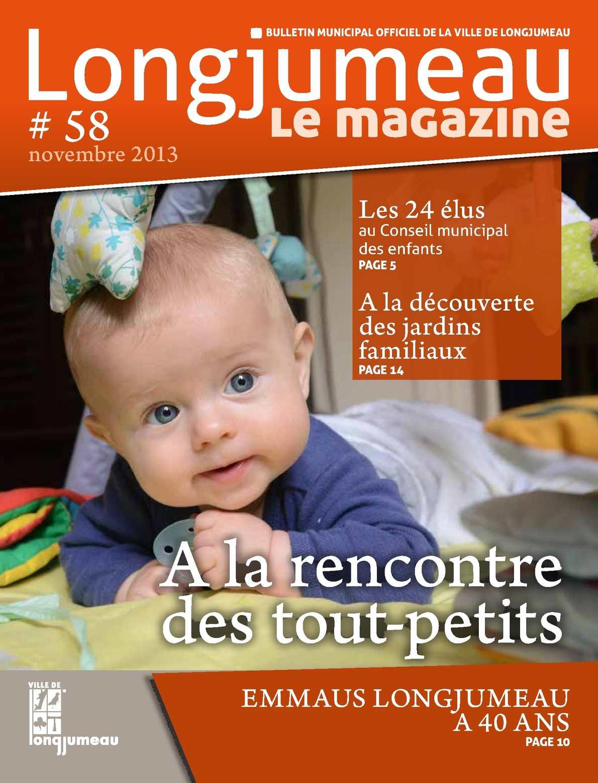 Calaméo Longjumeau Le Magazine 58 Novembre 2013