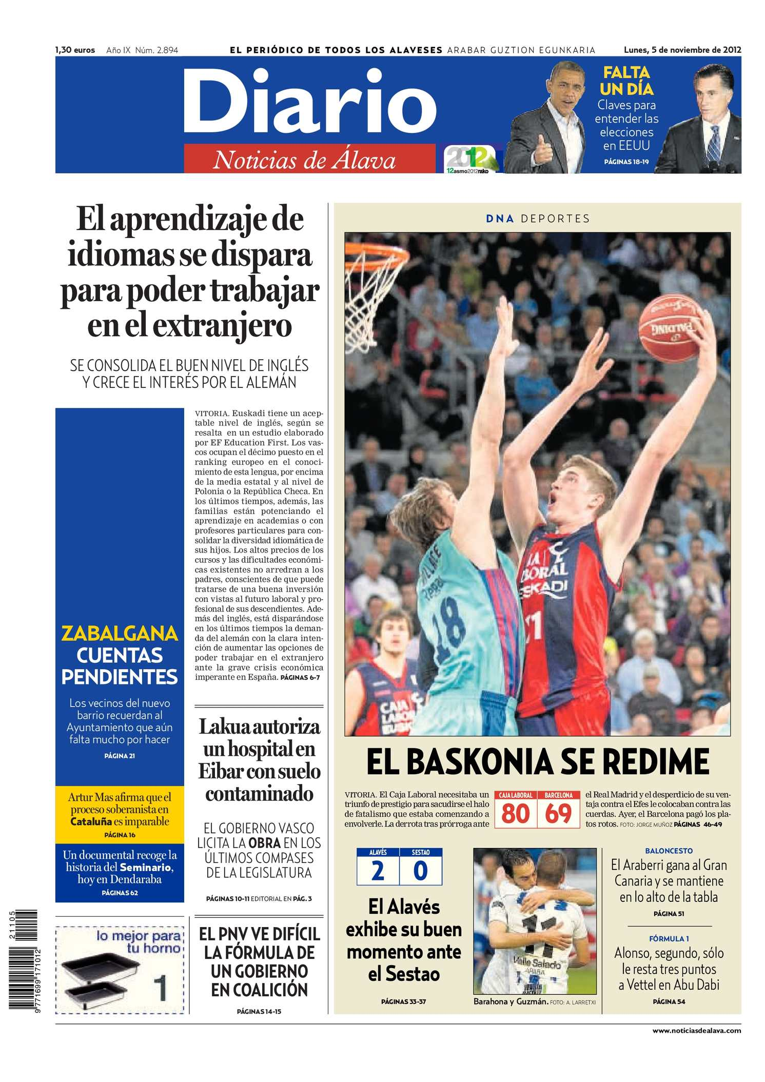 Calaméo - Diario de Noticias de Álava 20121105